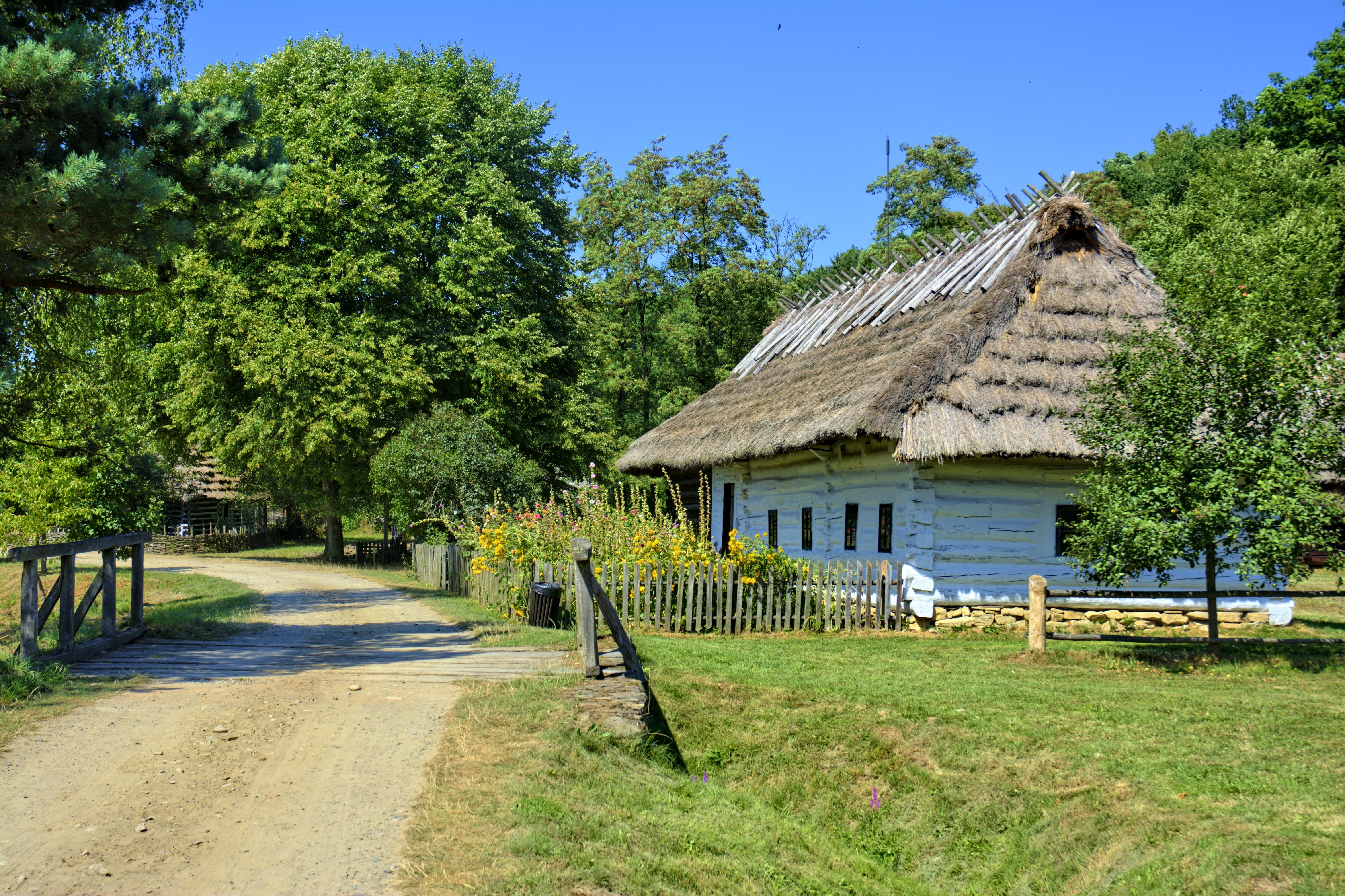 Free images tree grass old monument village resort for Idee per aprire un negozio originale