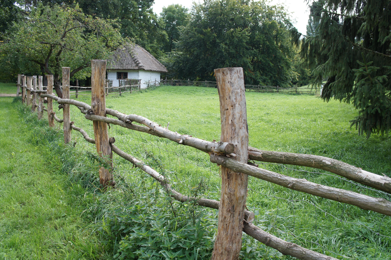 barrière clôture bois