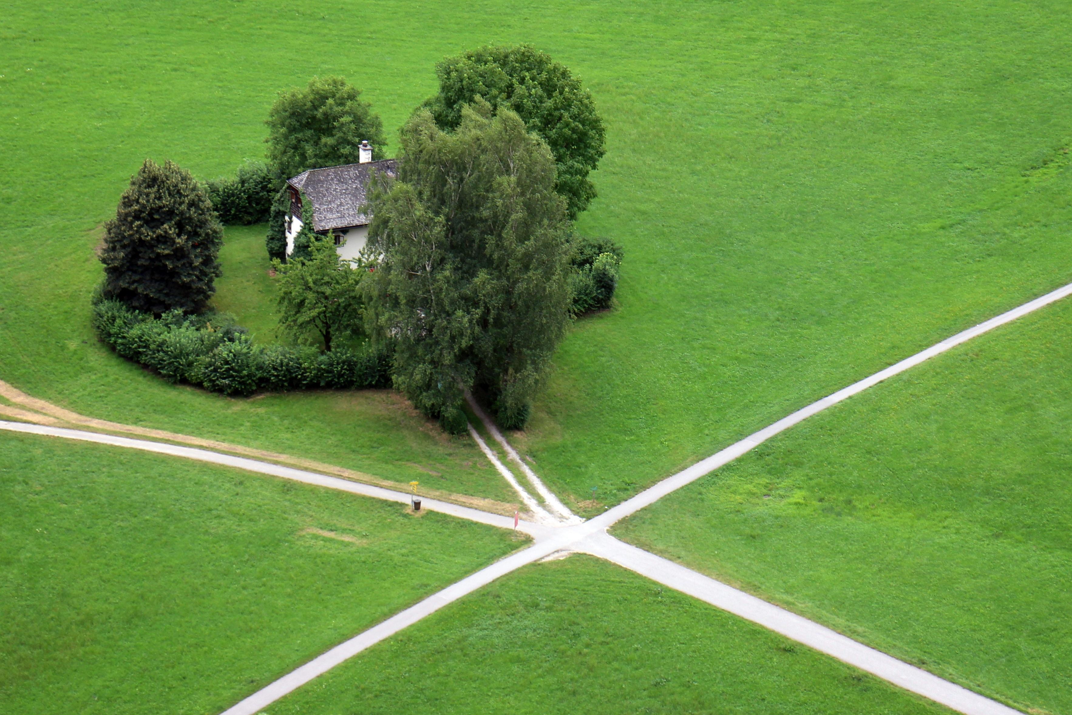 перекресток трех дорог фото