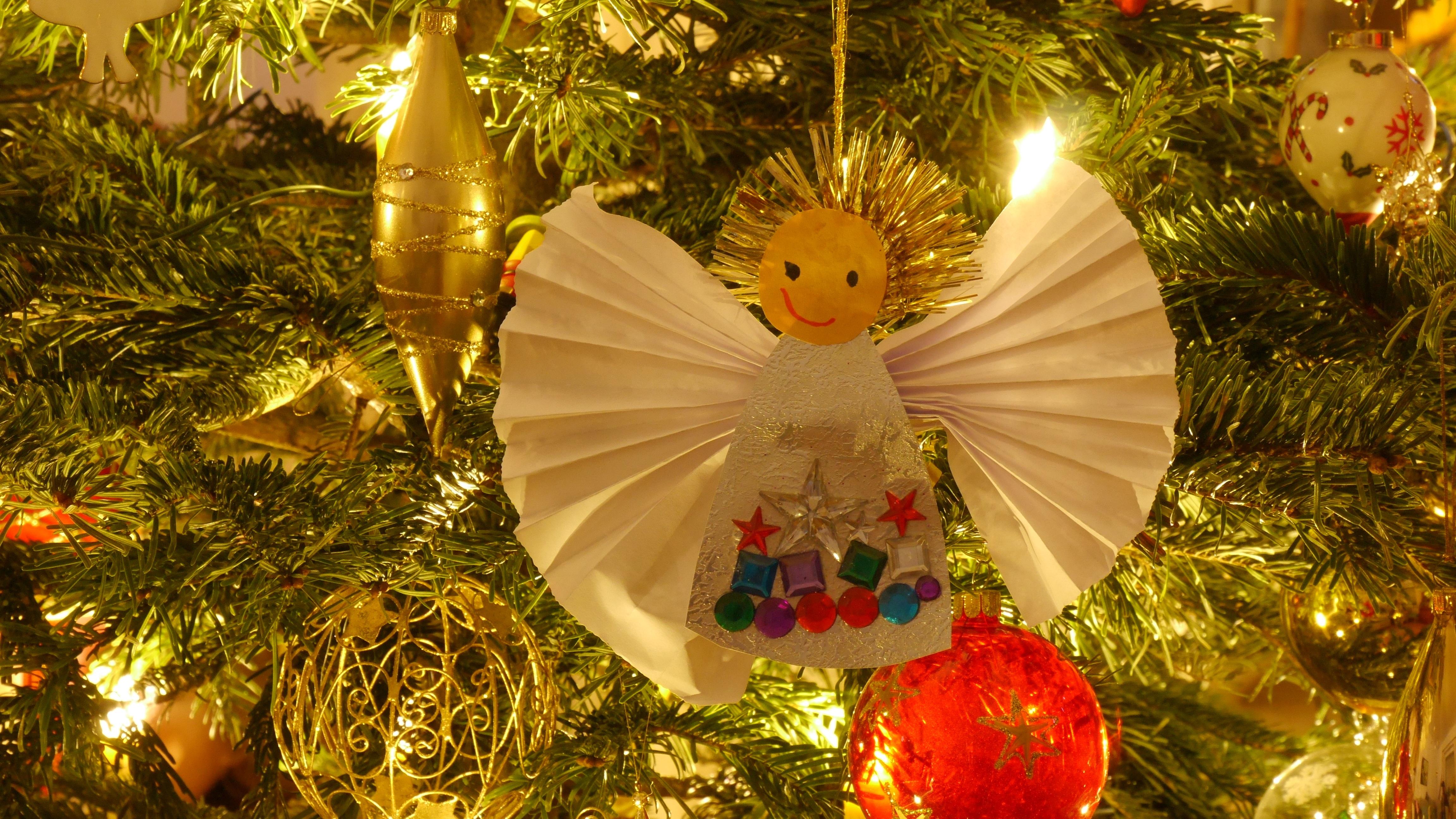 tree holiday christmas christmas tree sparkle christmas decoration angel christmas ornaments - Angel Christmas Tree
