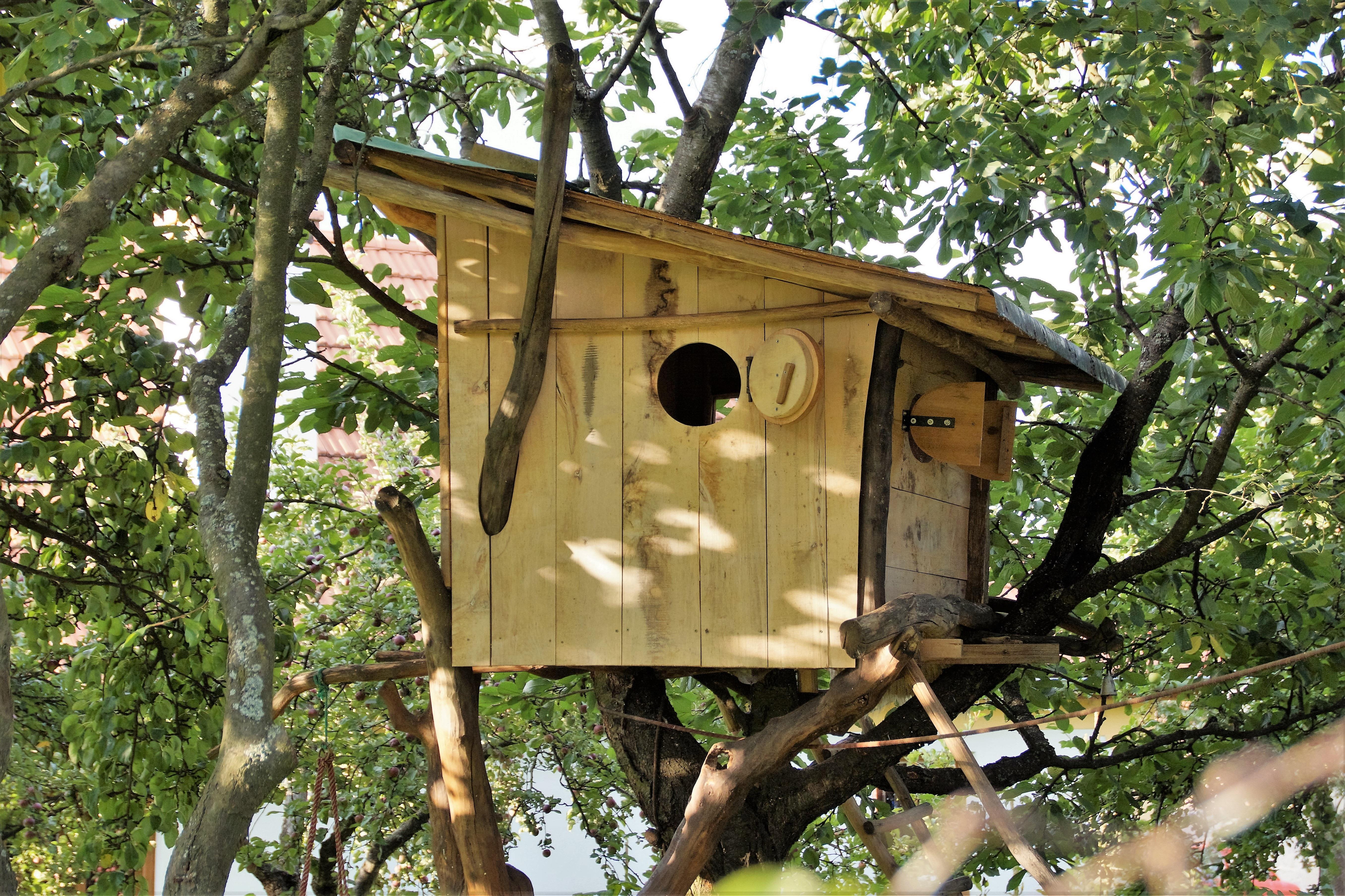 construire une cabane en bois