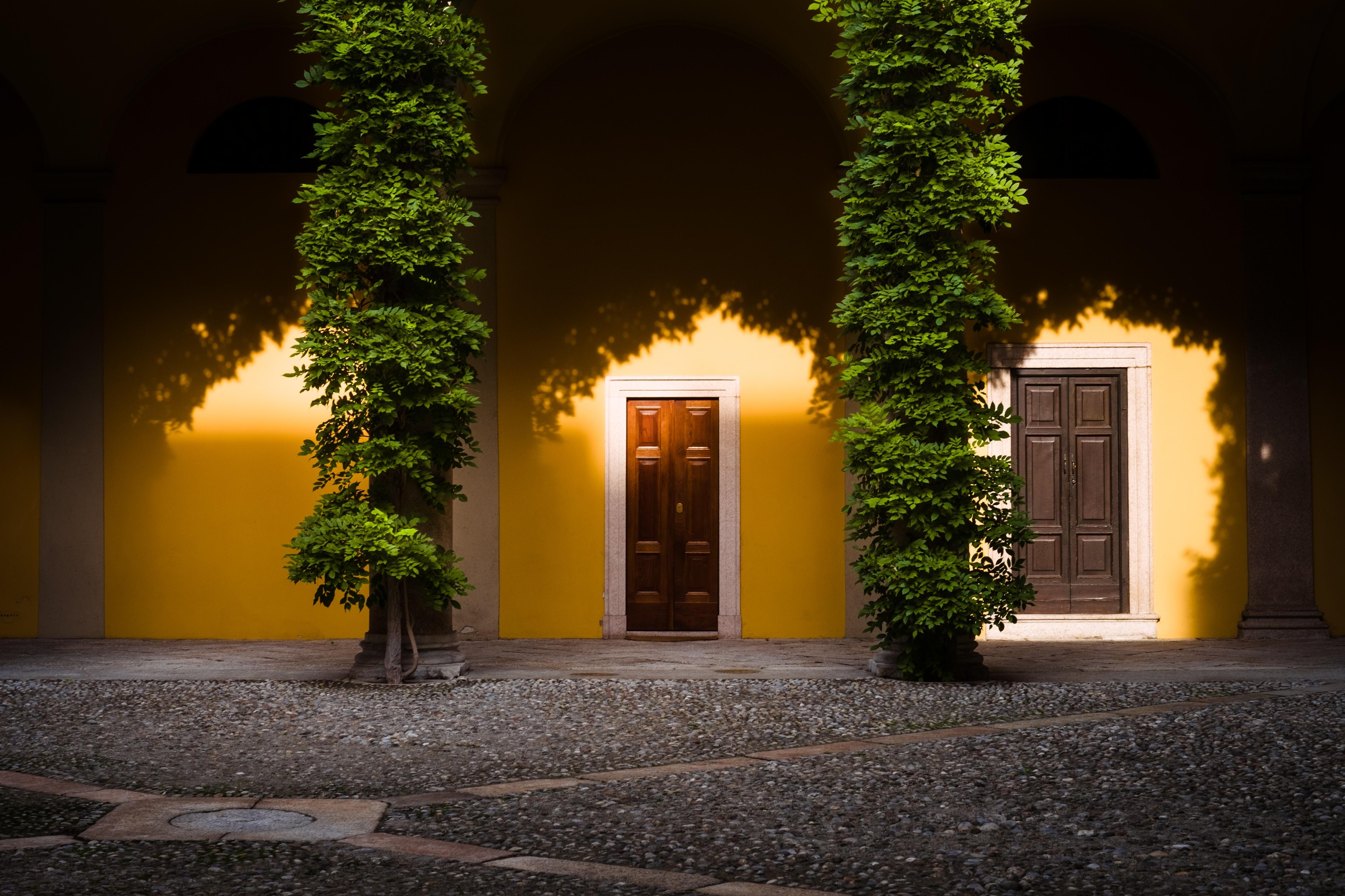 Gratis Afbeeldingen : boom, architectuur, nacht, huis, zonlicht ...