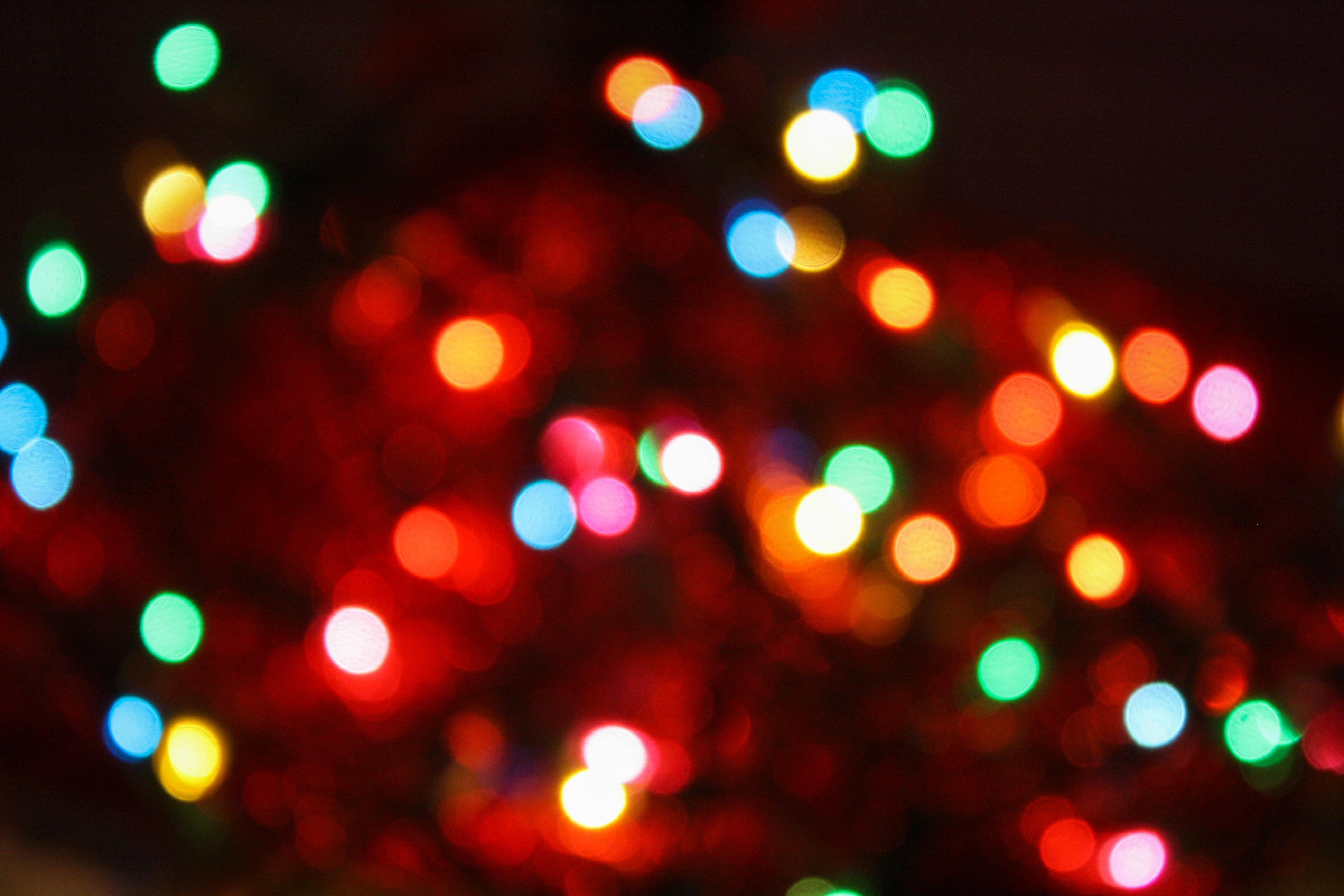 Purple Christmas Tree Lights.Free Images Light Bokeh Blur Night Purple Orange