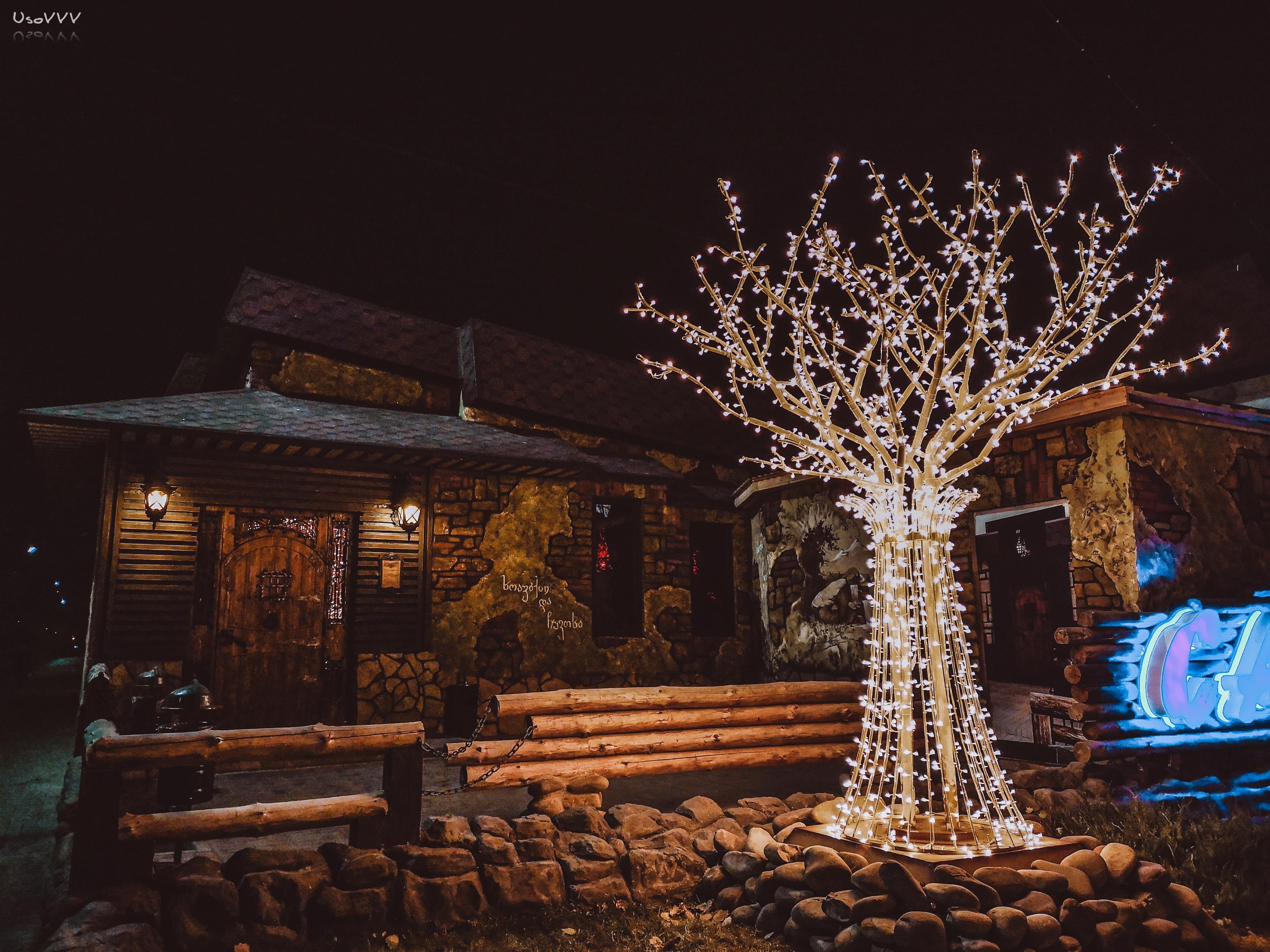 Haus Weihnachtsbeleuchtung.Kostenlose Foto Baum Beleuchtung Himmel Land Steine