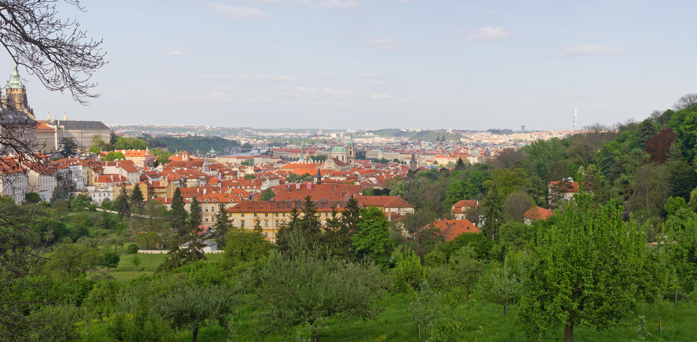 Обои чехия, praga, czech republic, панораманый, красивый. Города foto 10
