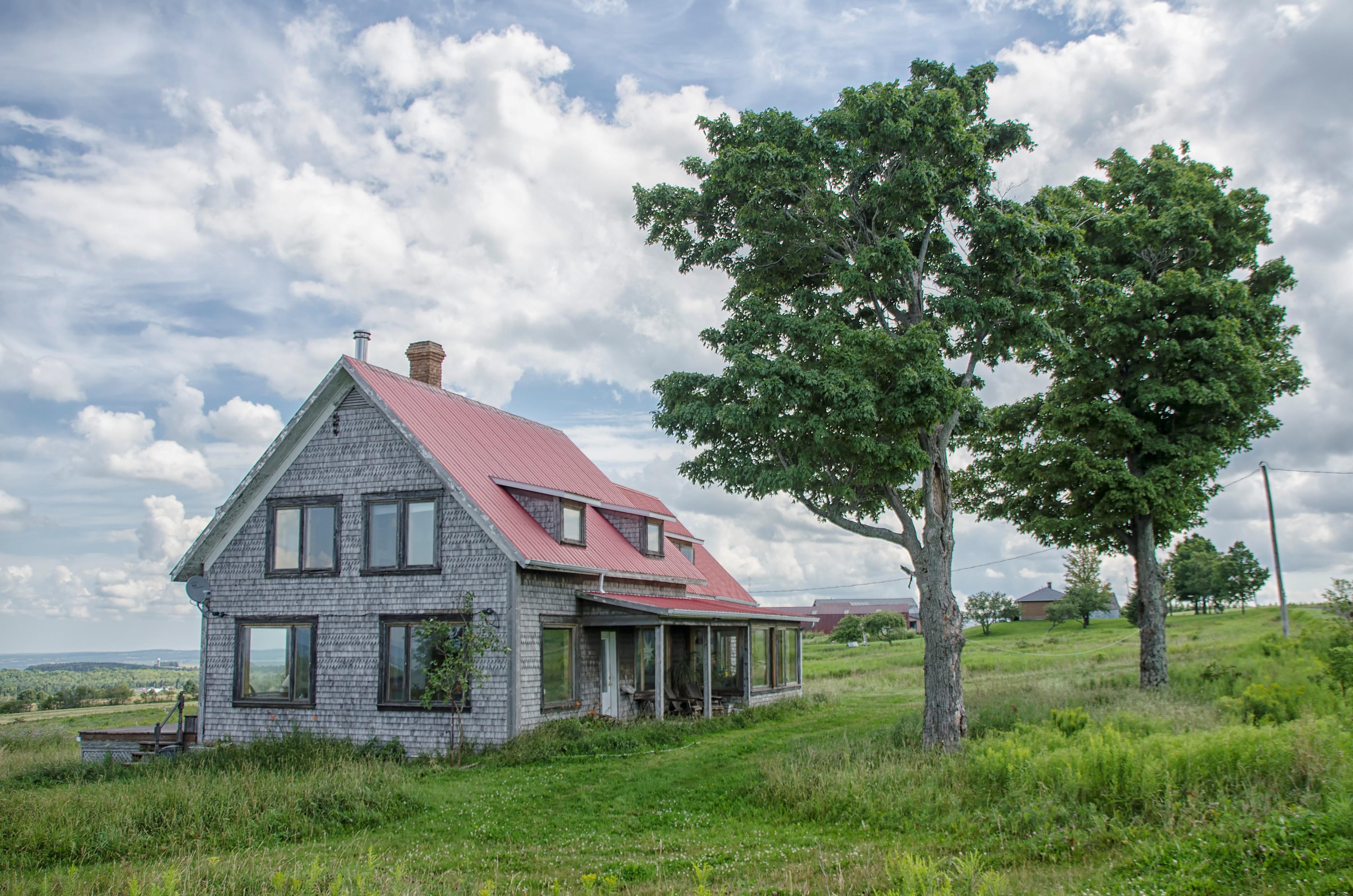 Images Gratuites : arbre, la nature, ferme, maison, village ...
