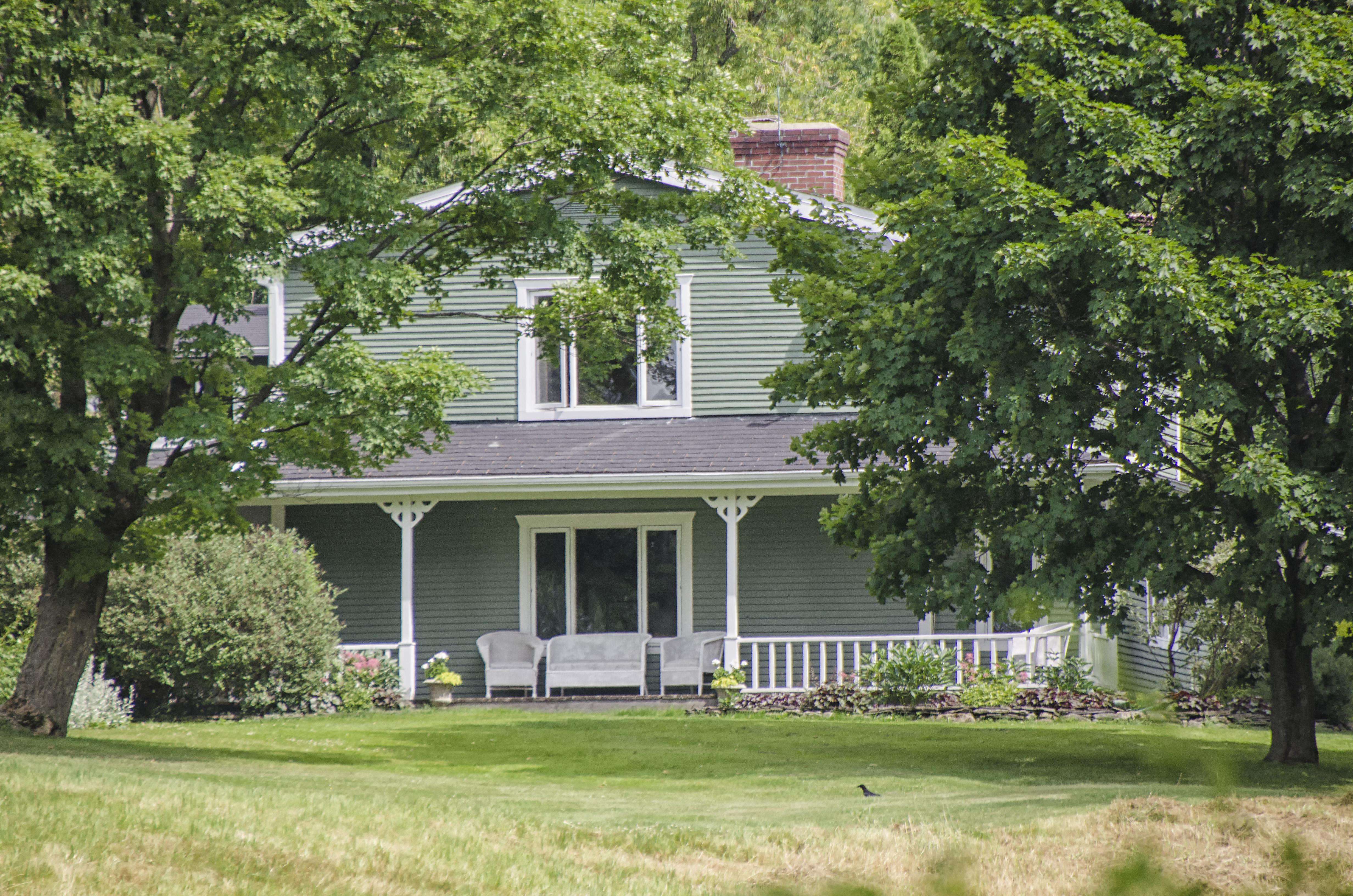 Images Gratuites : arbre, la nature, pelouse, Manoir, maison ...