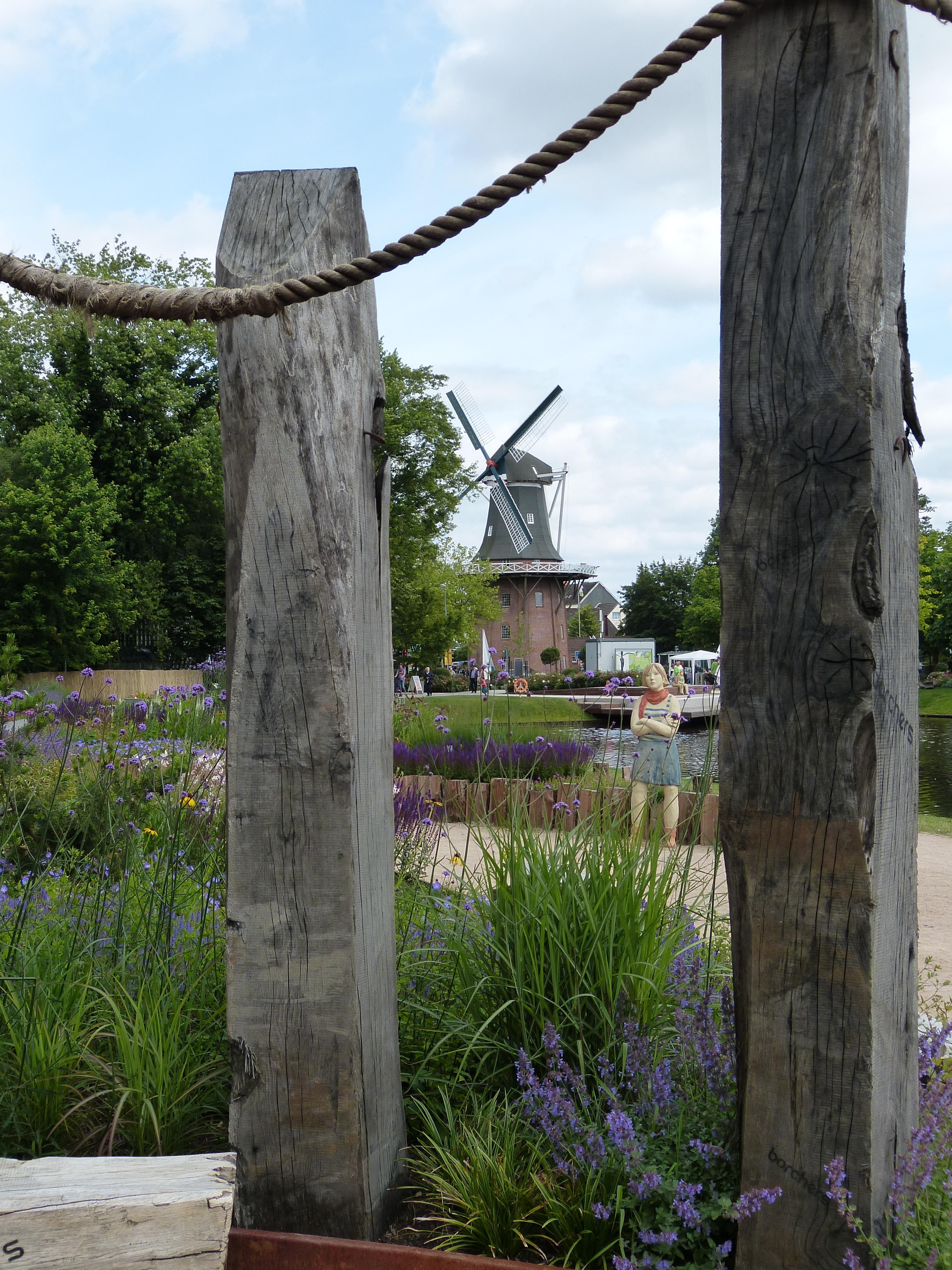 Kostenlose foto Baum Natur Rock Zaun Struktur Windmühle
