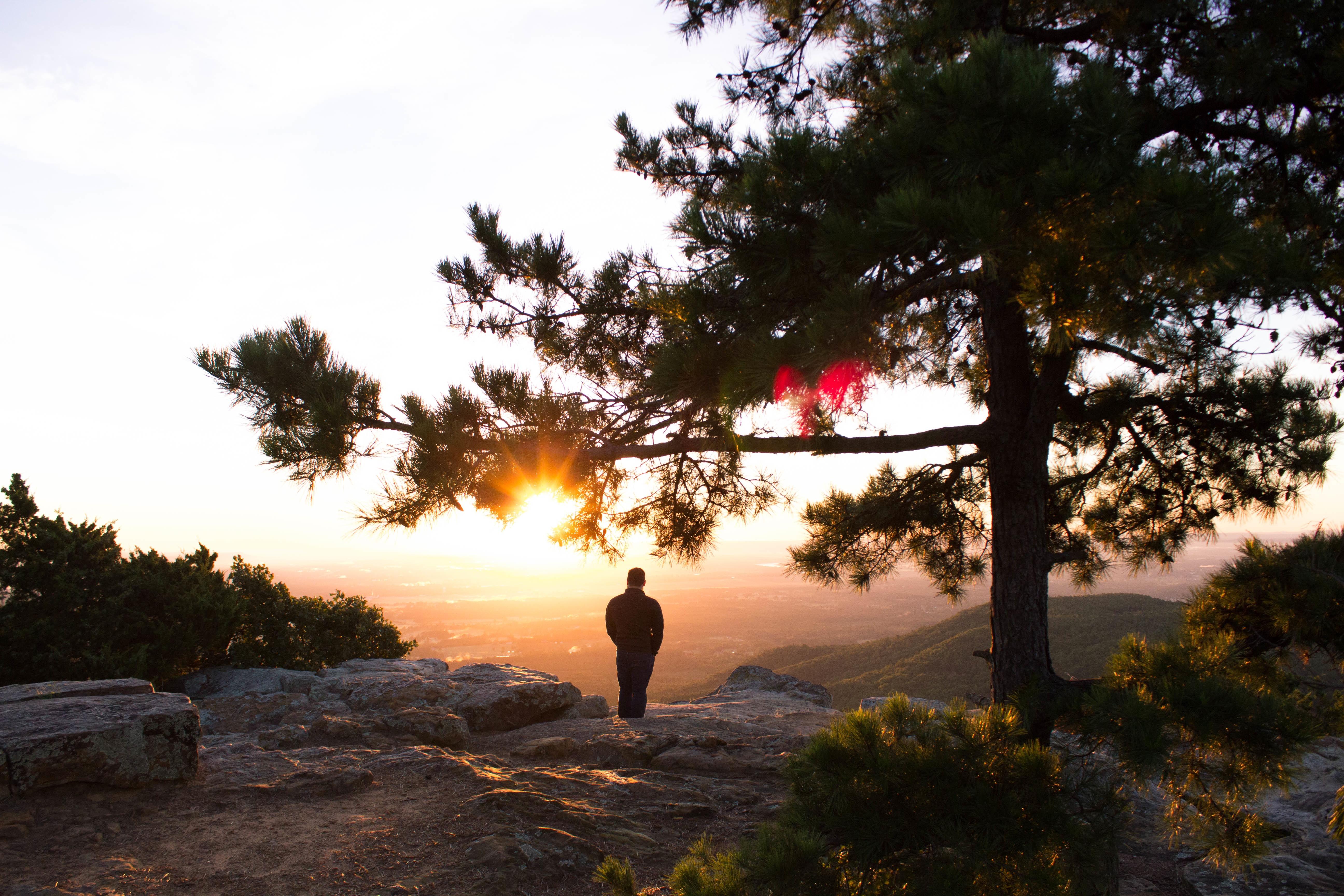 фото одинокого мужчины на природе сталкеры