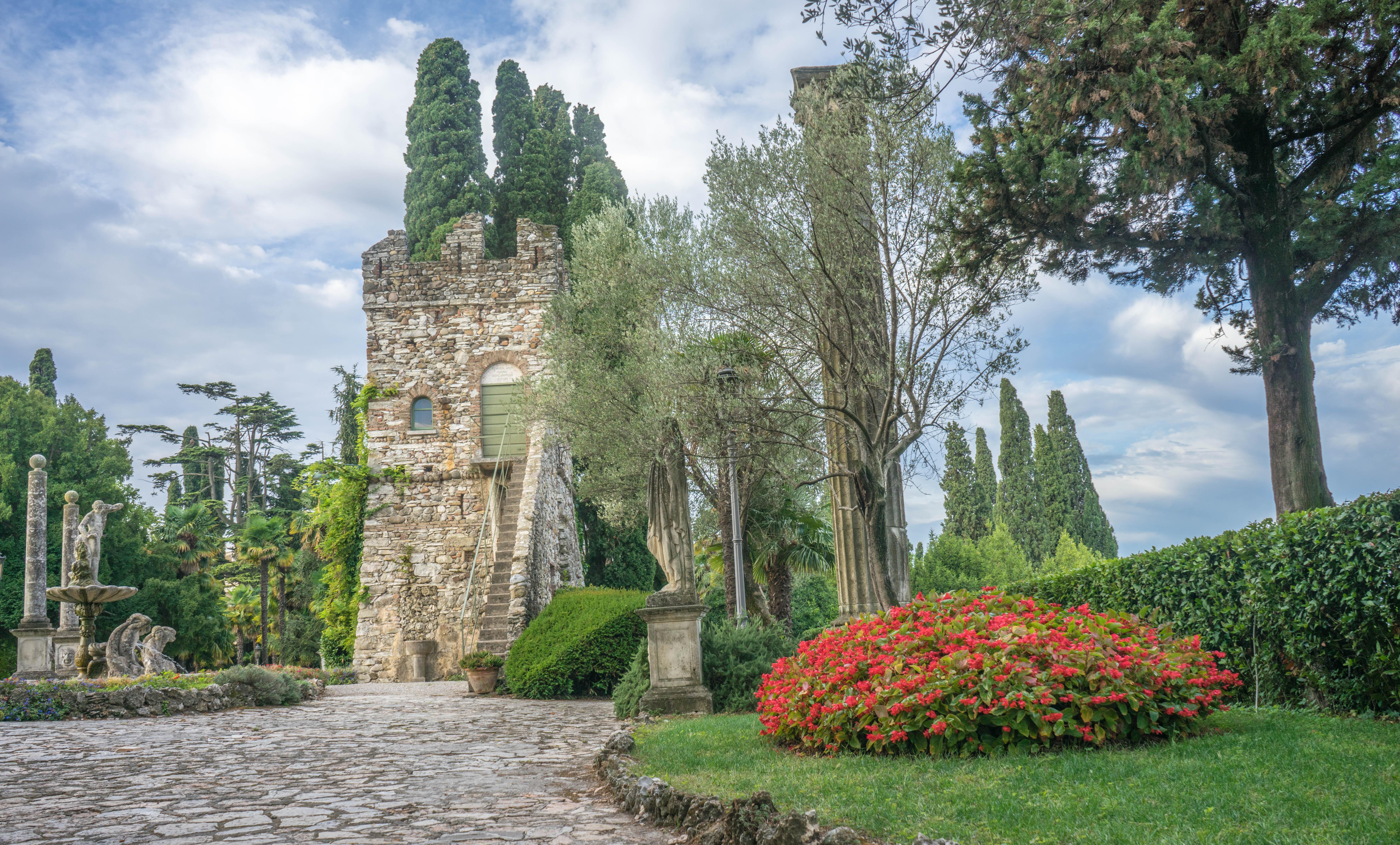 Fotos gratis rbol al aire libre arquitectura flor for Jardines italianos
