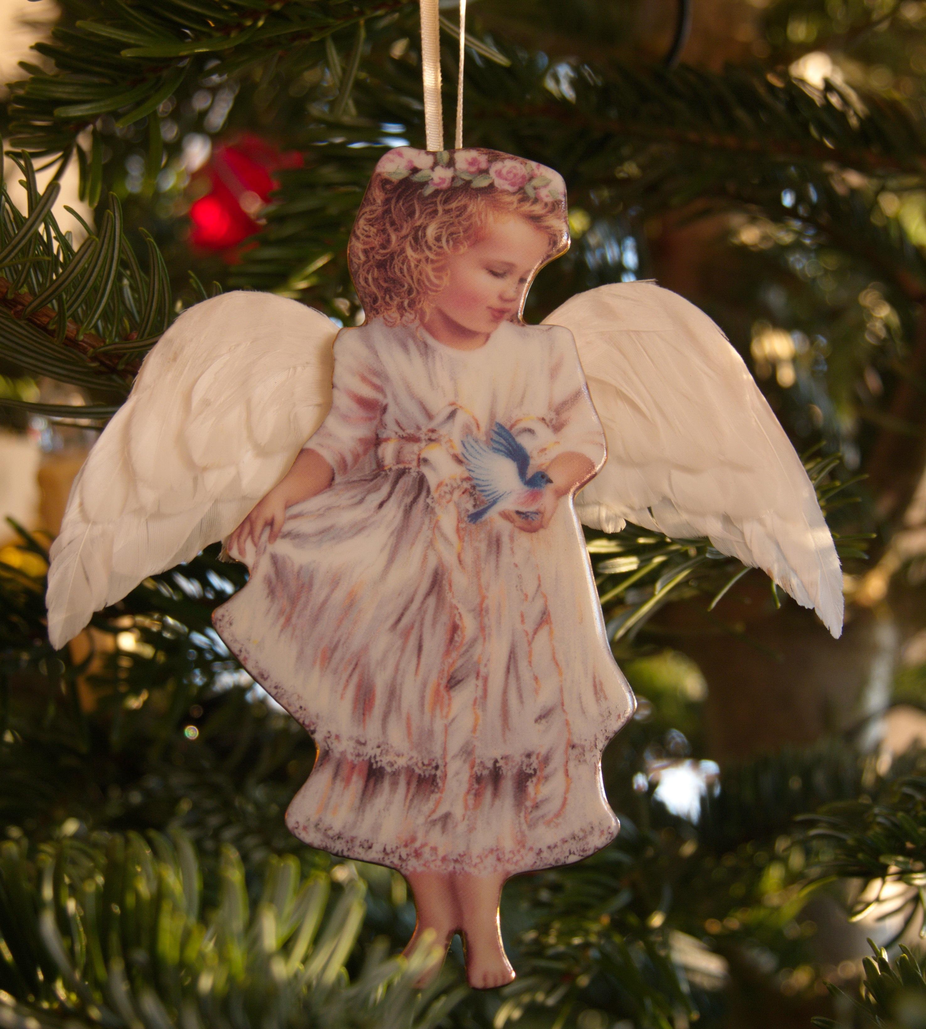 Cherub Christmas Decorations