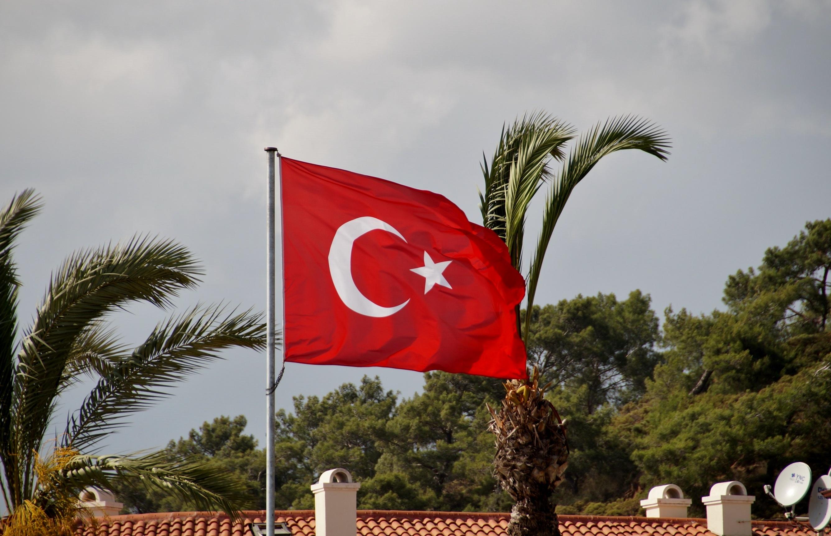 Троицей, картинки турецкий флаг