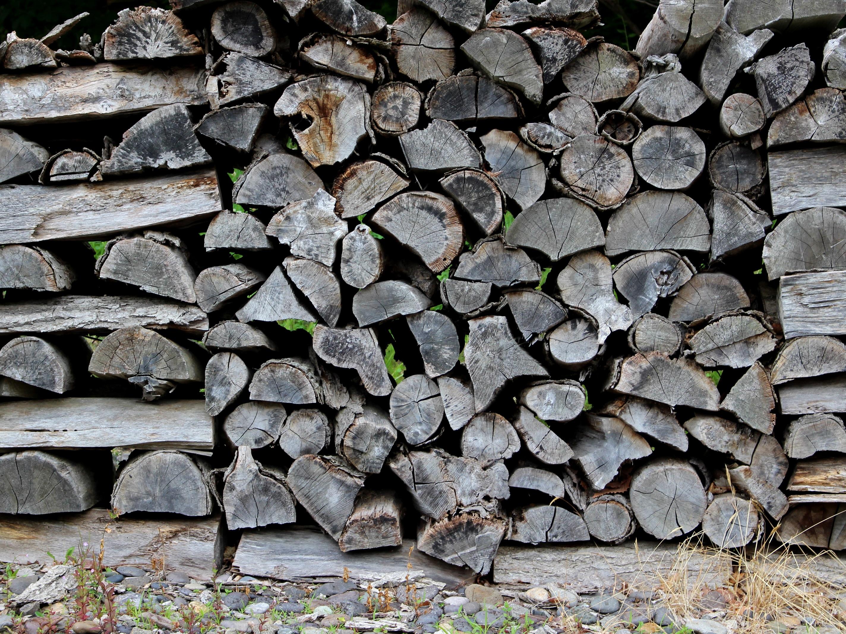 Baum Rock Holz Textur Kofferraum Alt Kopfstein Mauer Asphalt Boden Kamin  Steinwand Brennholz Ziegel Feuer Material