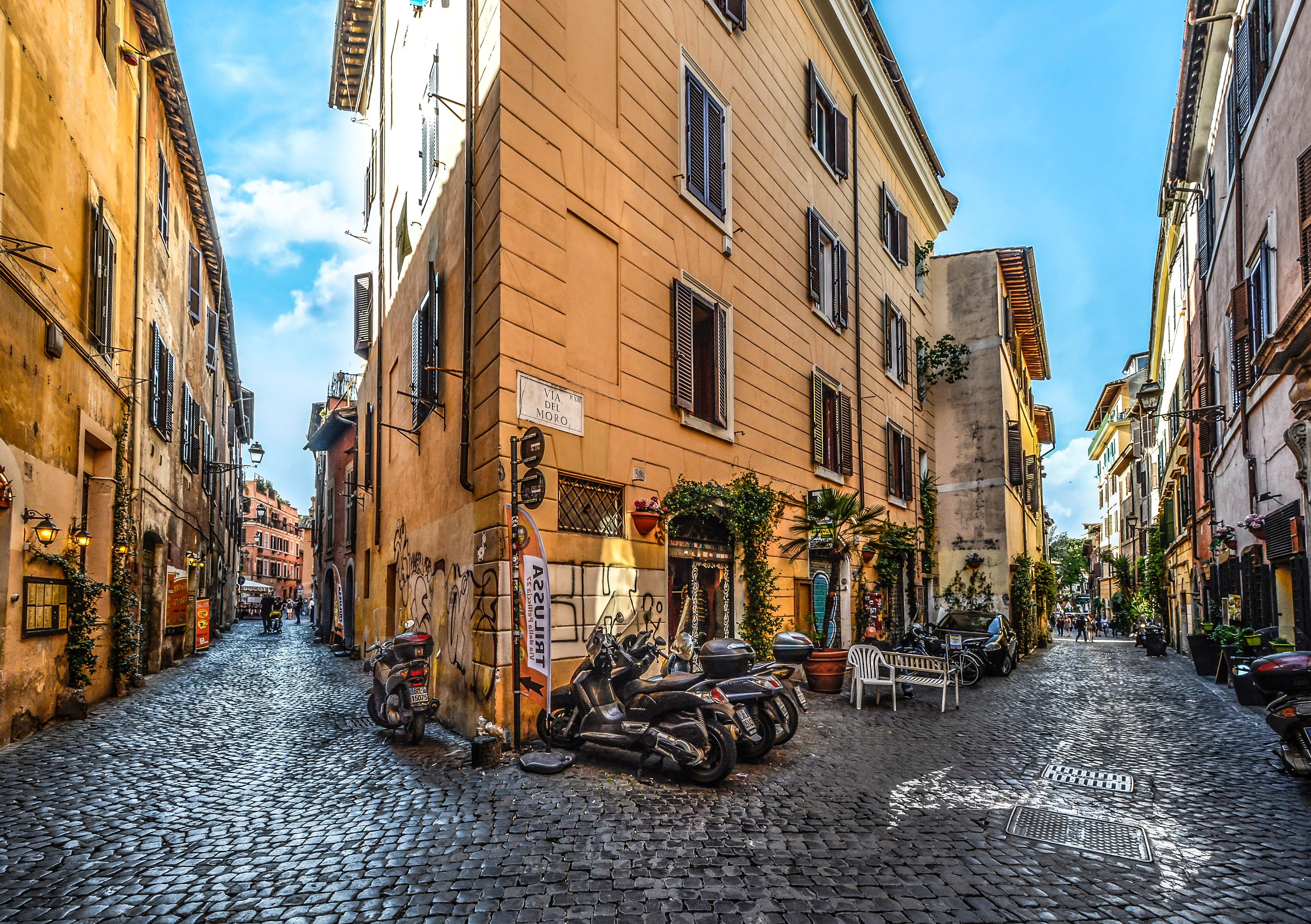 Фото итальянских улиц большого разрешения