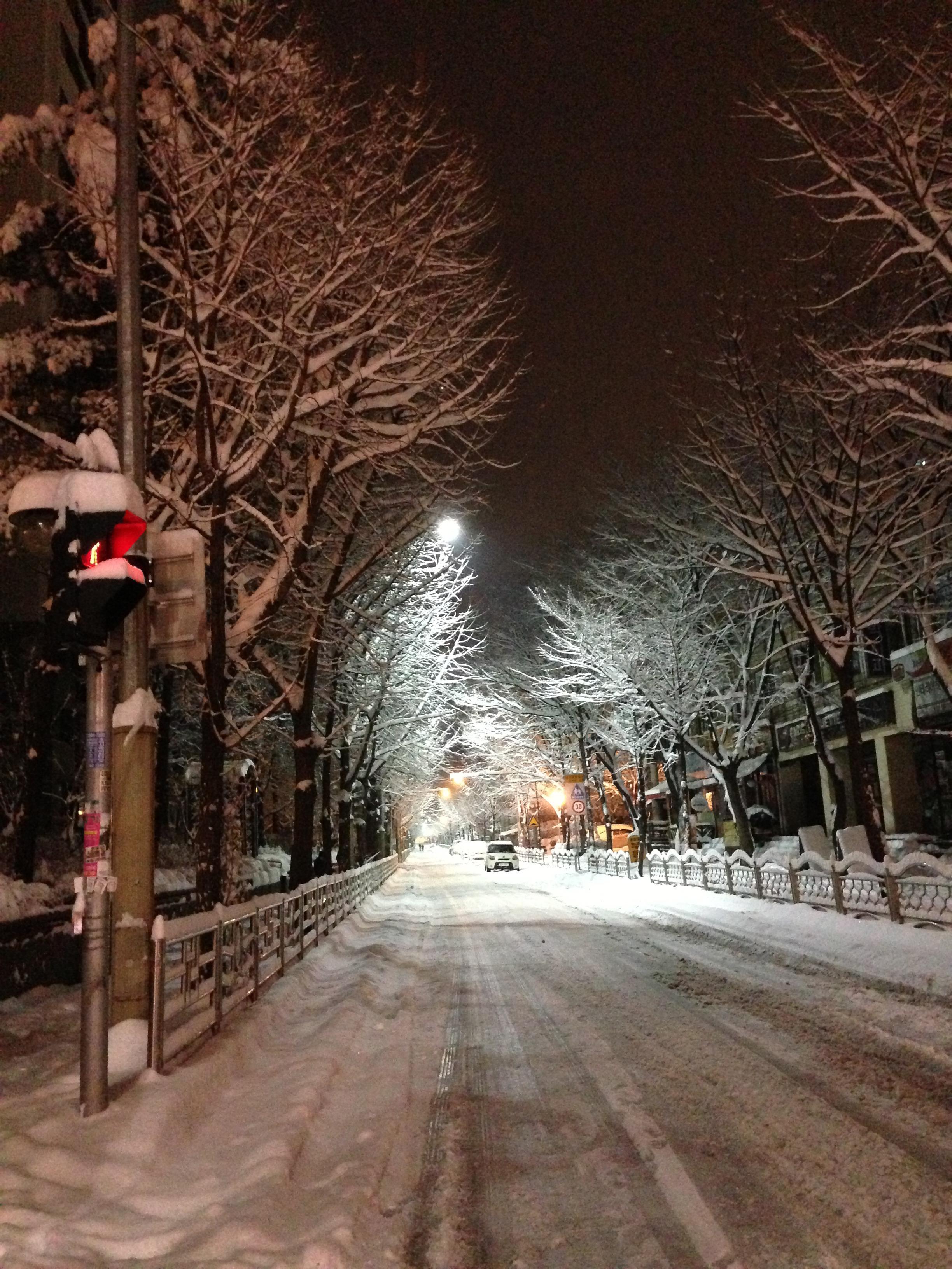 эти снег ночь улица картинки нами