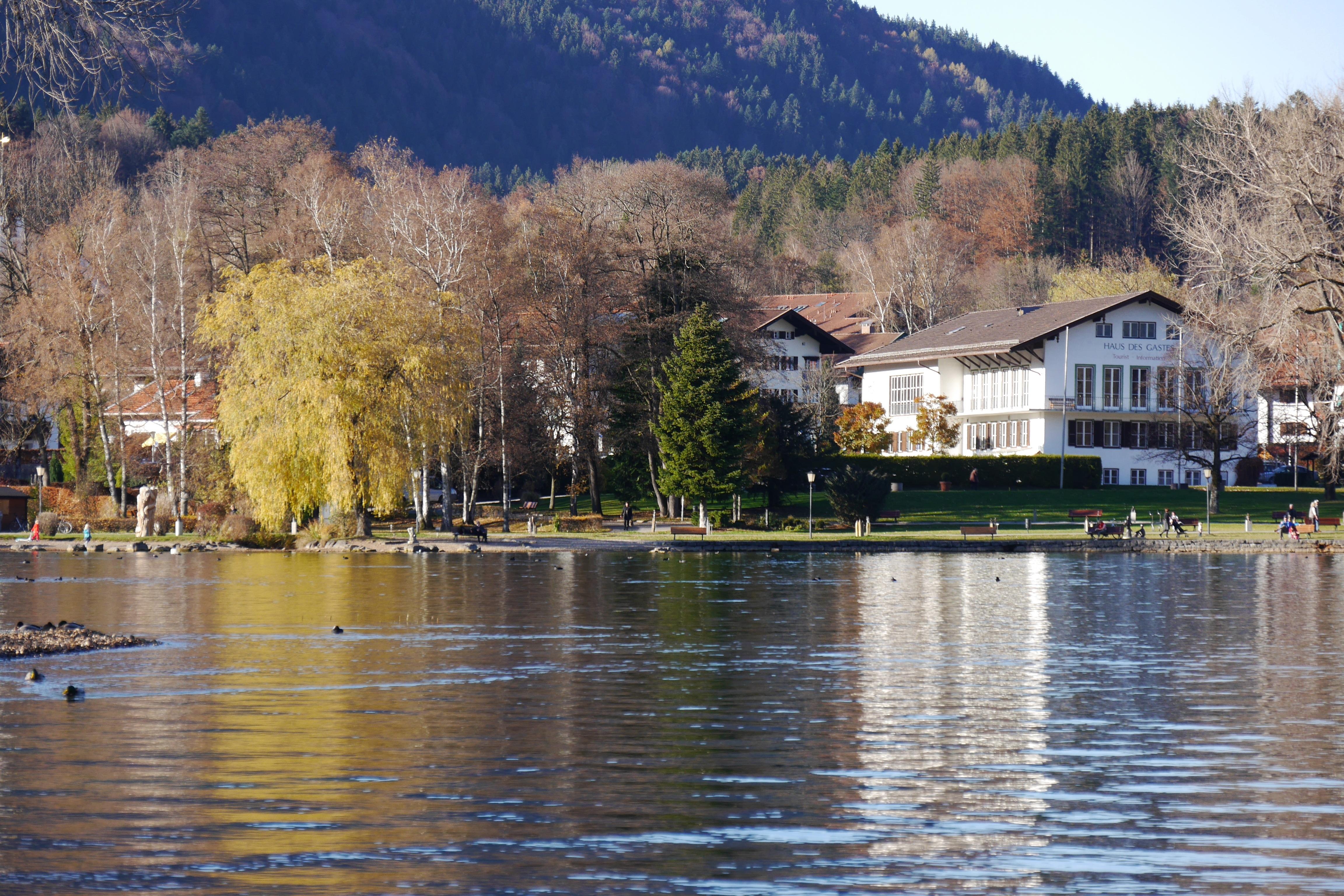 фото виллы горбачева на озере тегернзее том, как проводились