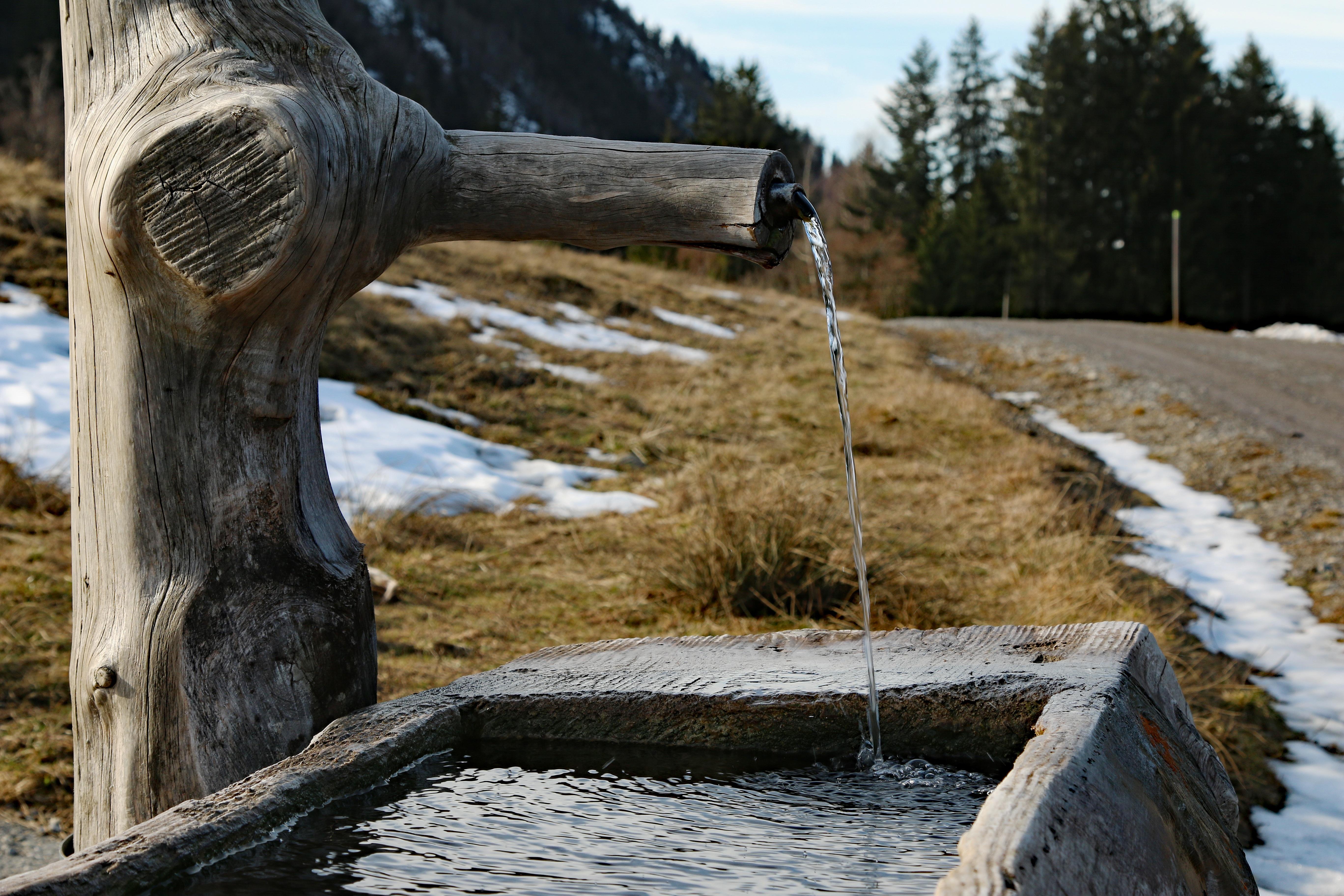 bassin d'eau traduction