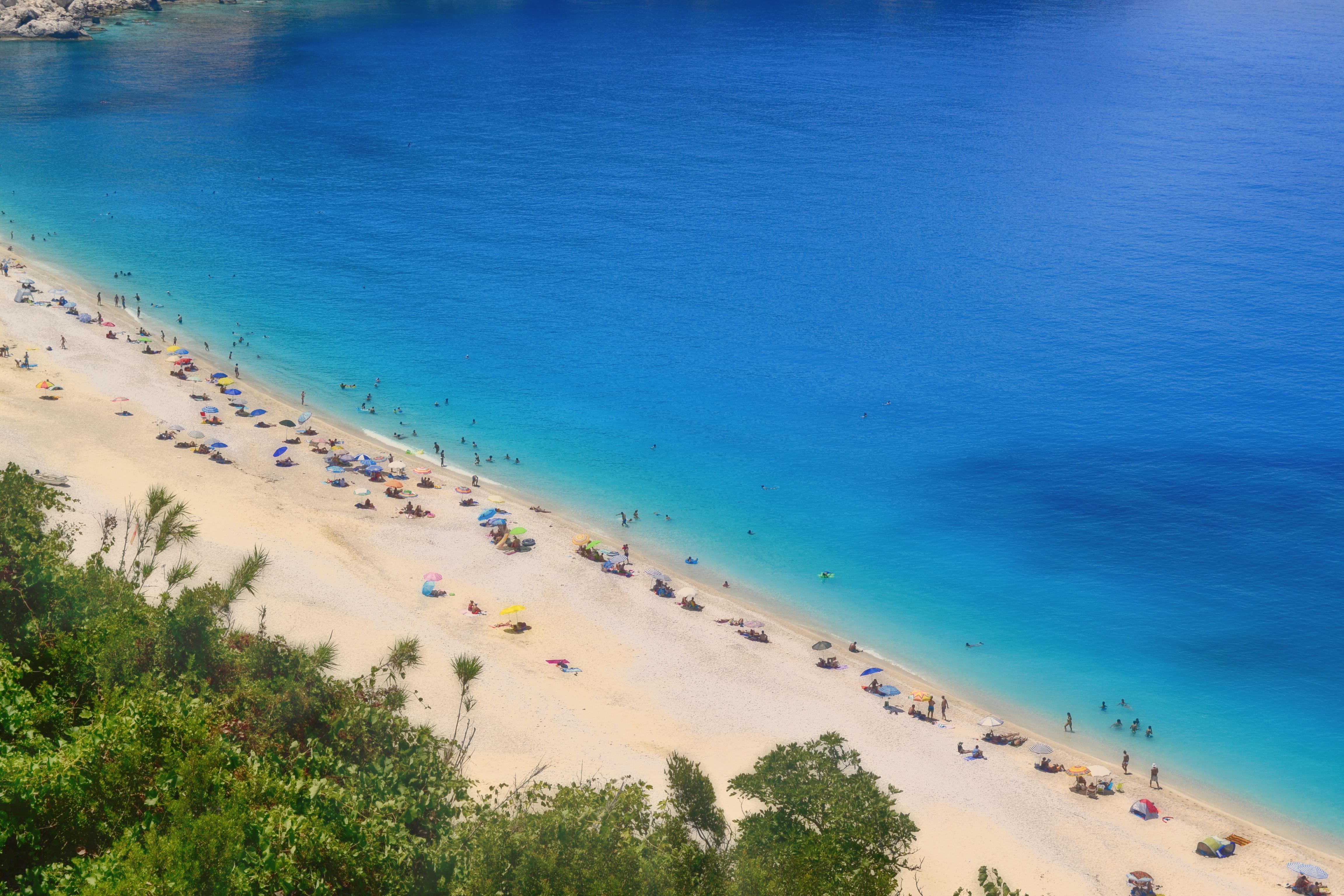 free images : turquoise, beach, blue, myrtos, kefalonia, island