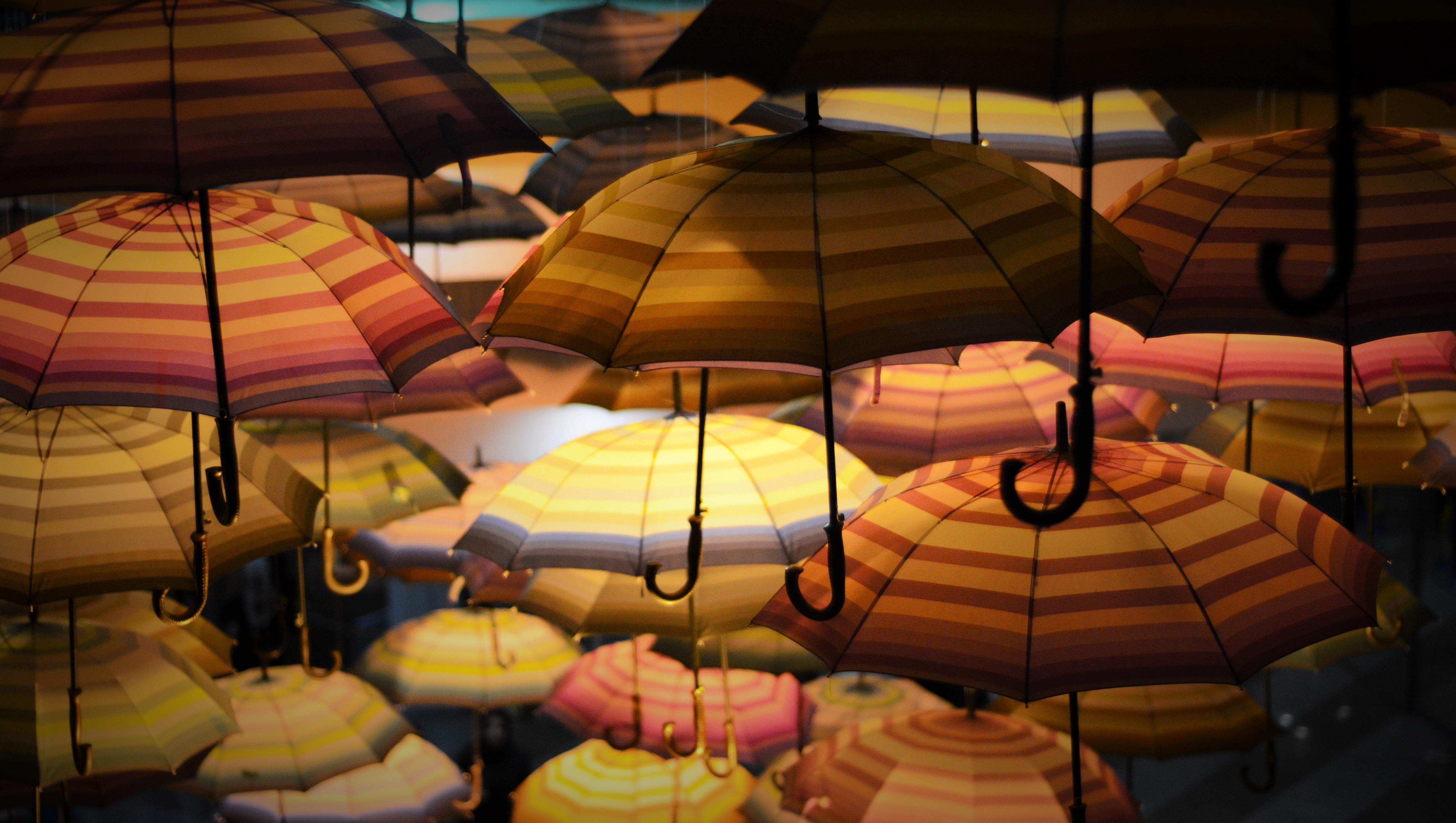 Immagini belle ombrello illuminazione oggetto creato dall uomo
