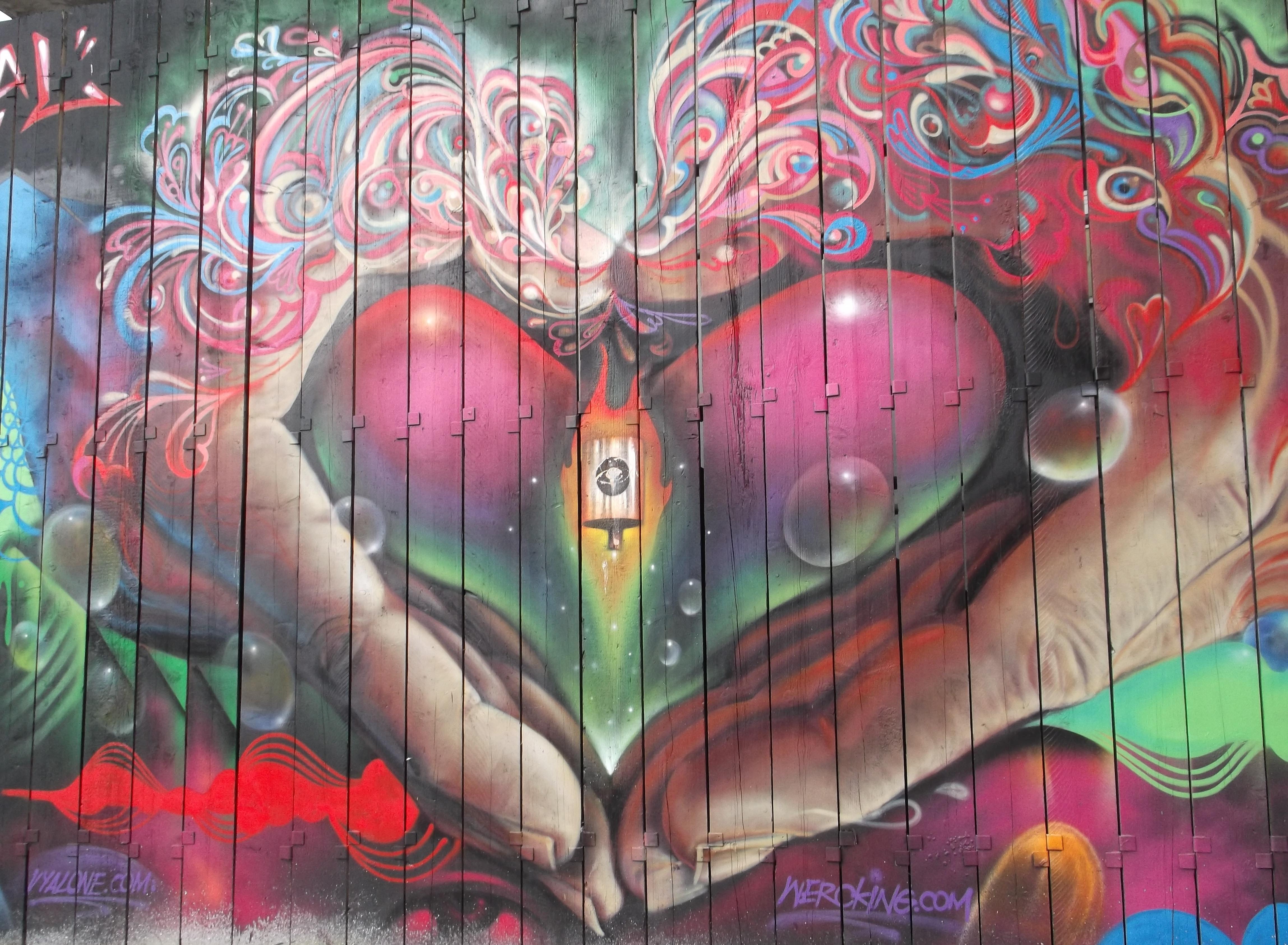 Hype Imp Victoria Graffiti