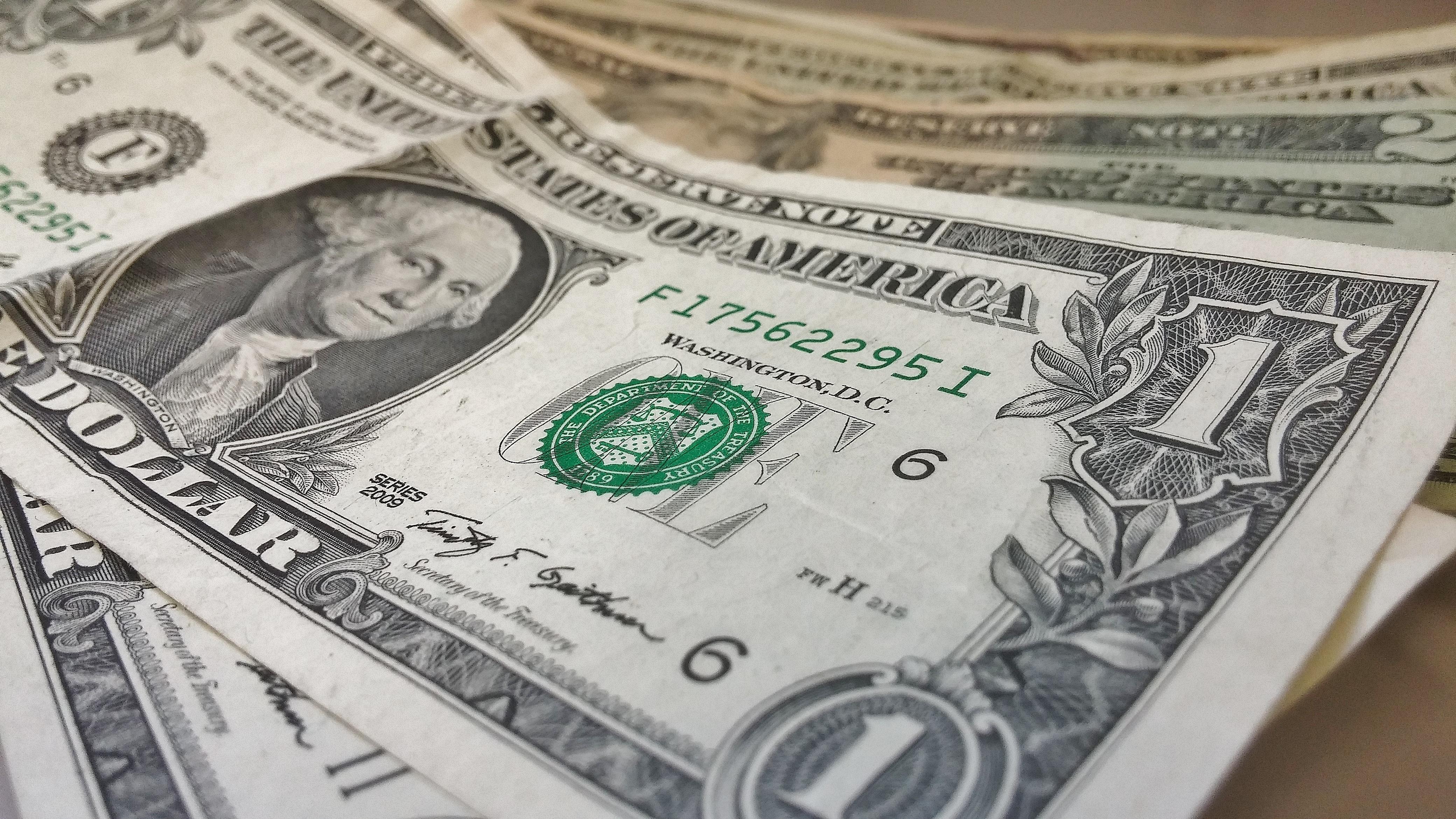 Usa America Money Cash Currency Dollar Rich Financial Savings Wealth Profit Banknotes Bills Dollars Us