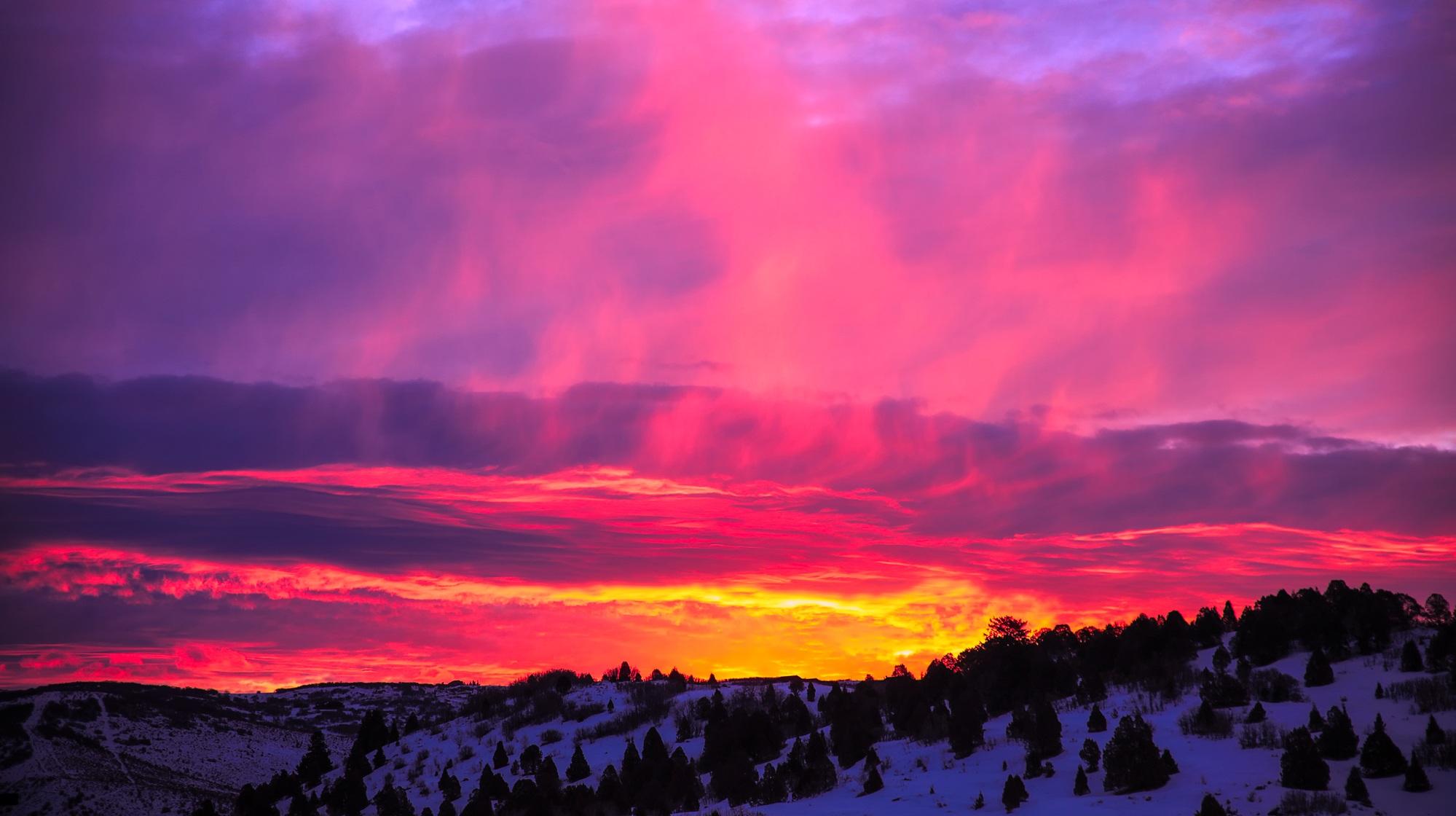 Free Images Utah Sunset Dusk Sunrise Beautiful