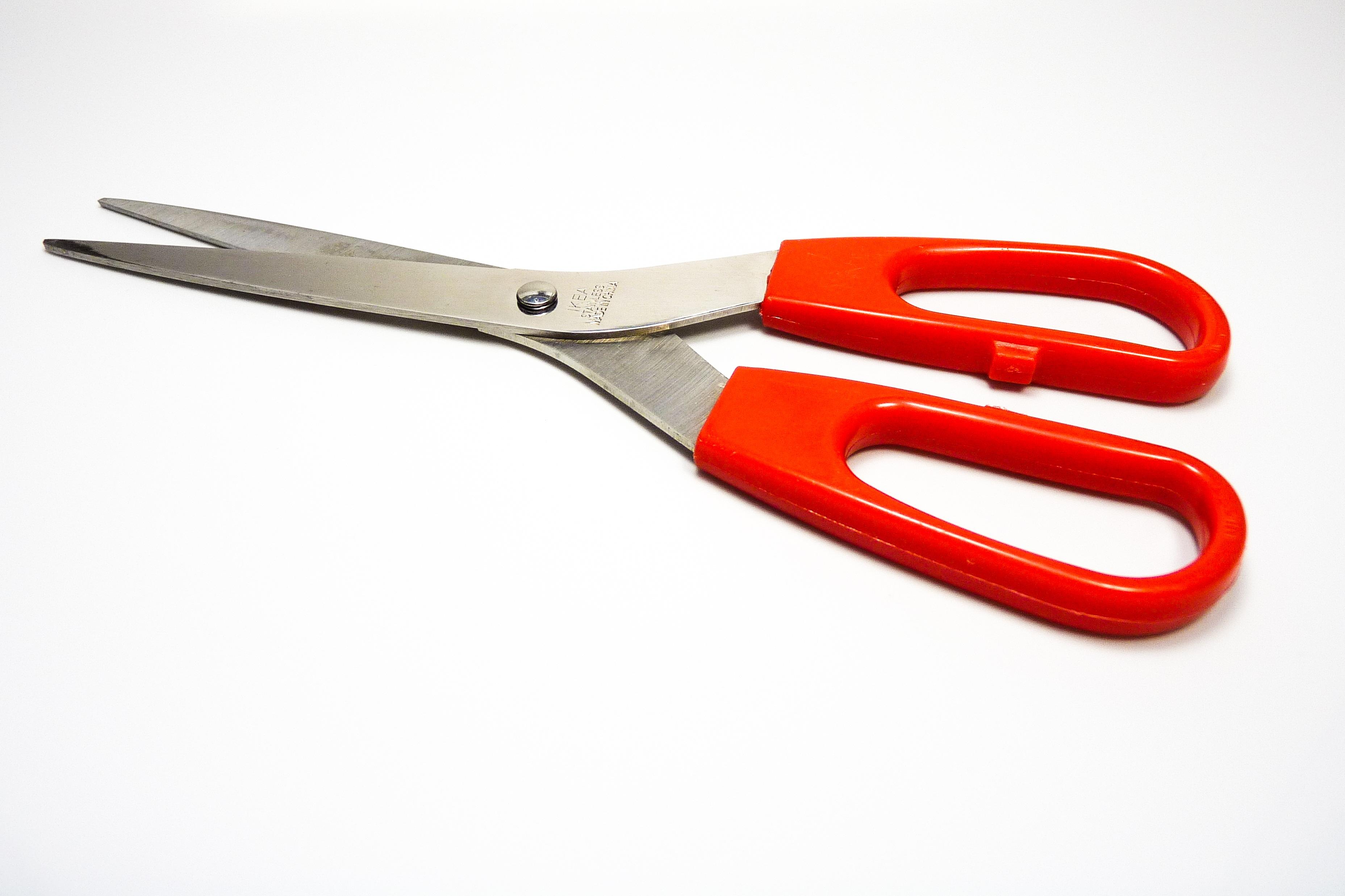 Perkakas Tajam Alat Merah Peralatan Dapur Memotong Tang Gunting Hidung Jarum Diagonal