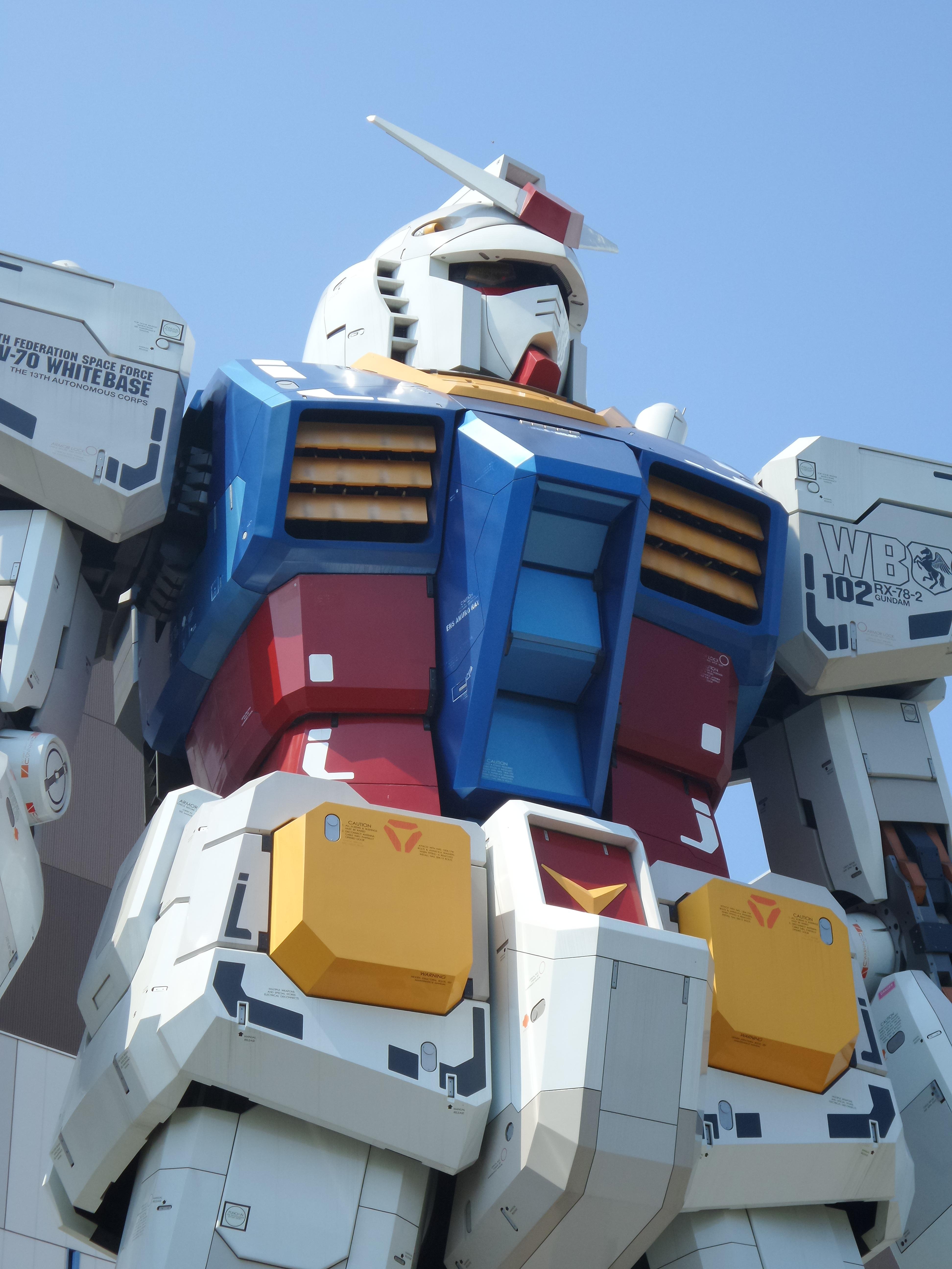 Hình Ảnh : Xe, Máy Móc, Đồ Chơi, Tokyo, Robot, Trước Mặt, Truyện, Thân Xác,  Gundam, Mecha 3888x5184