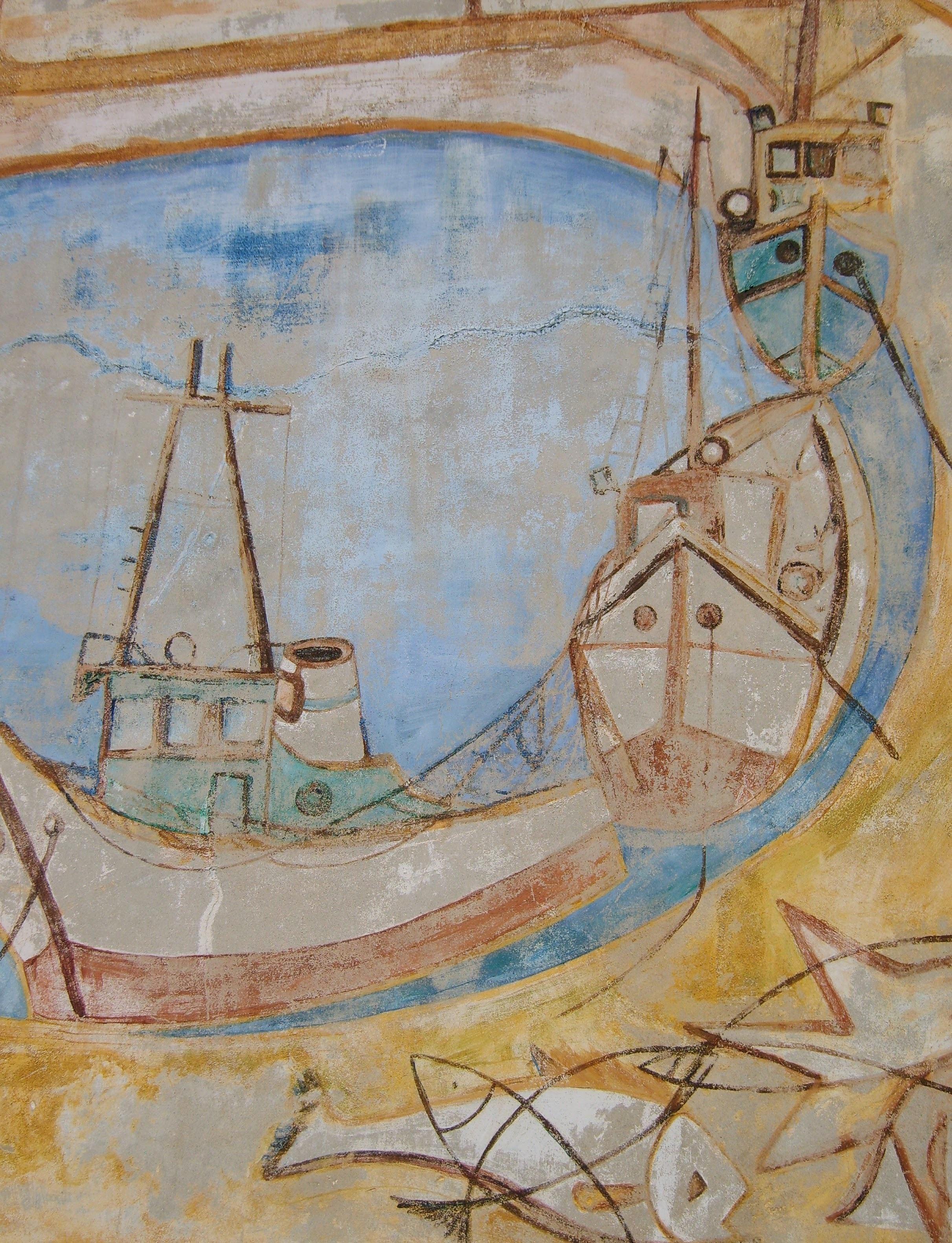 Gambar Kendaraan Spanyol Sketsa Gambar Ilustrasi Lukisan