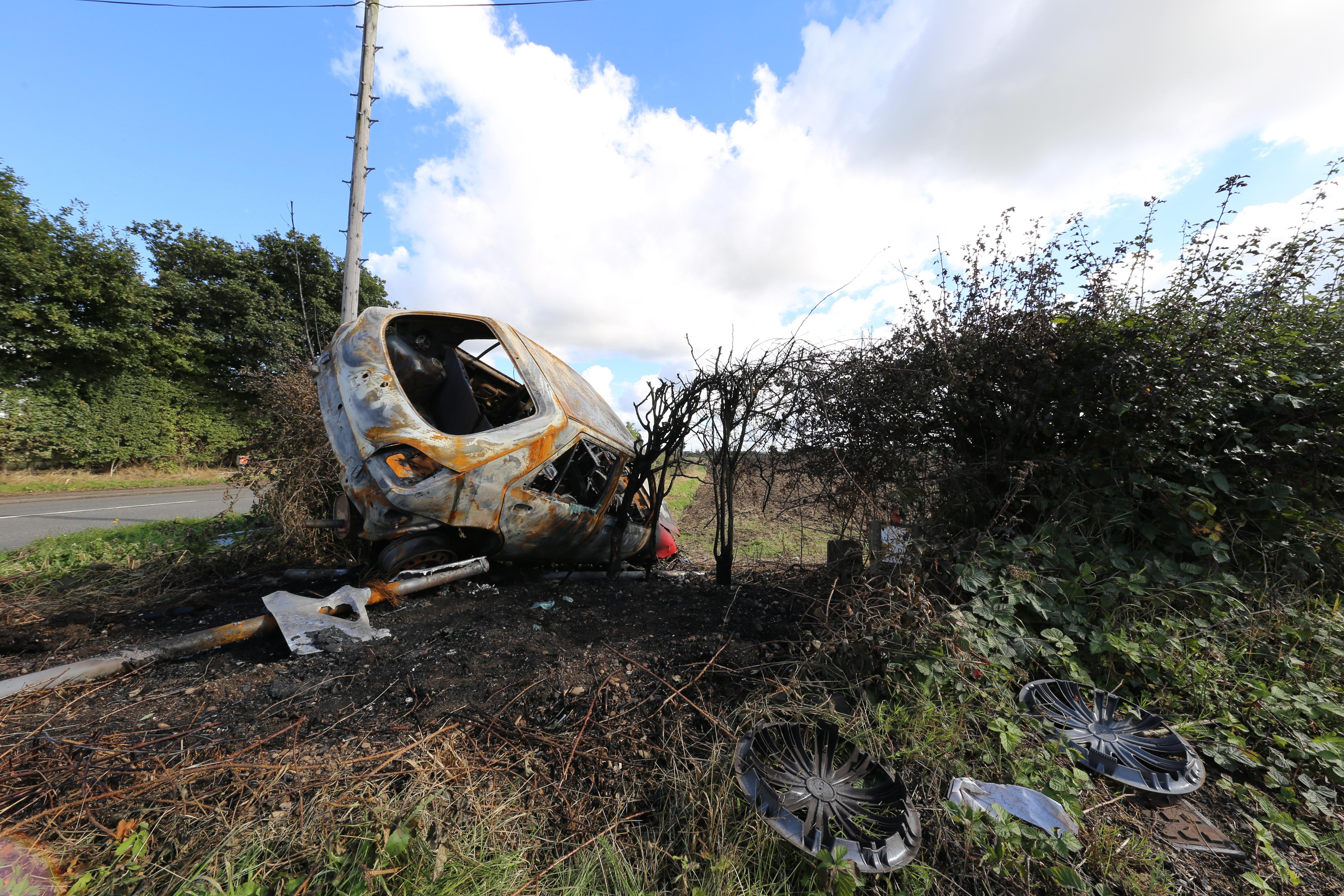 Free Images : vehicle, soil, car crash, car wreck, car accident ...