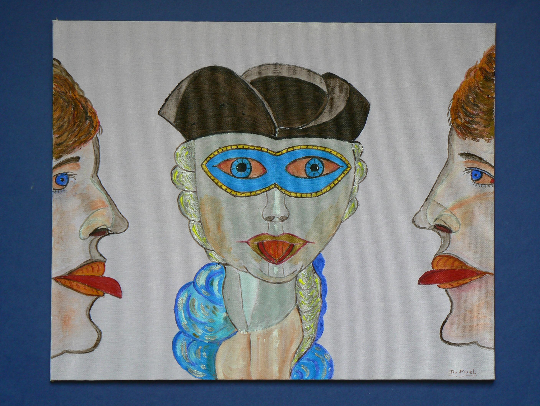 Gambar Venesia Lukisan Sketsa Gambar Ilustrasi Bibir