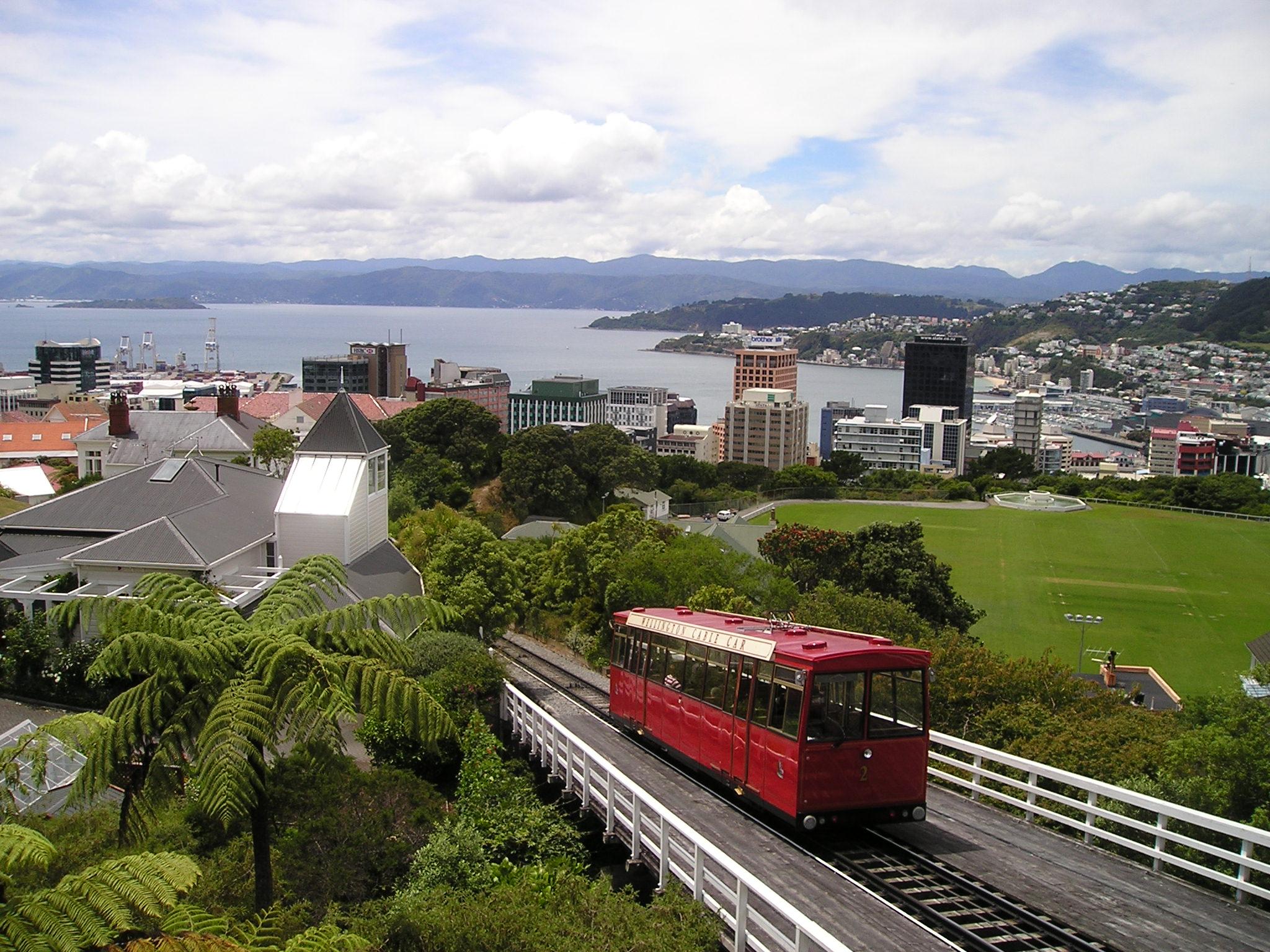 Selandia Baru Picture: Gambar : Melihat, Pemandangan Kota, Mengangkut, Kota