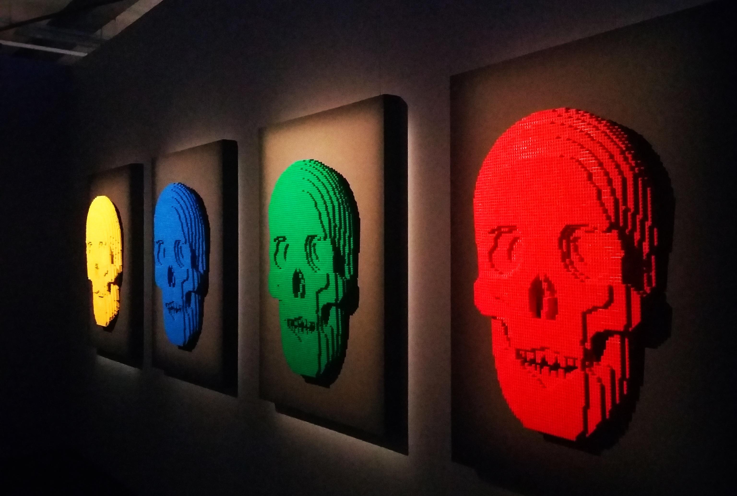 Fotos gratis : ver, cráneo, escultura, art, Ladrillos, Lego, Cráneos ...