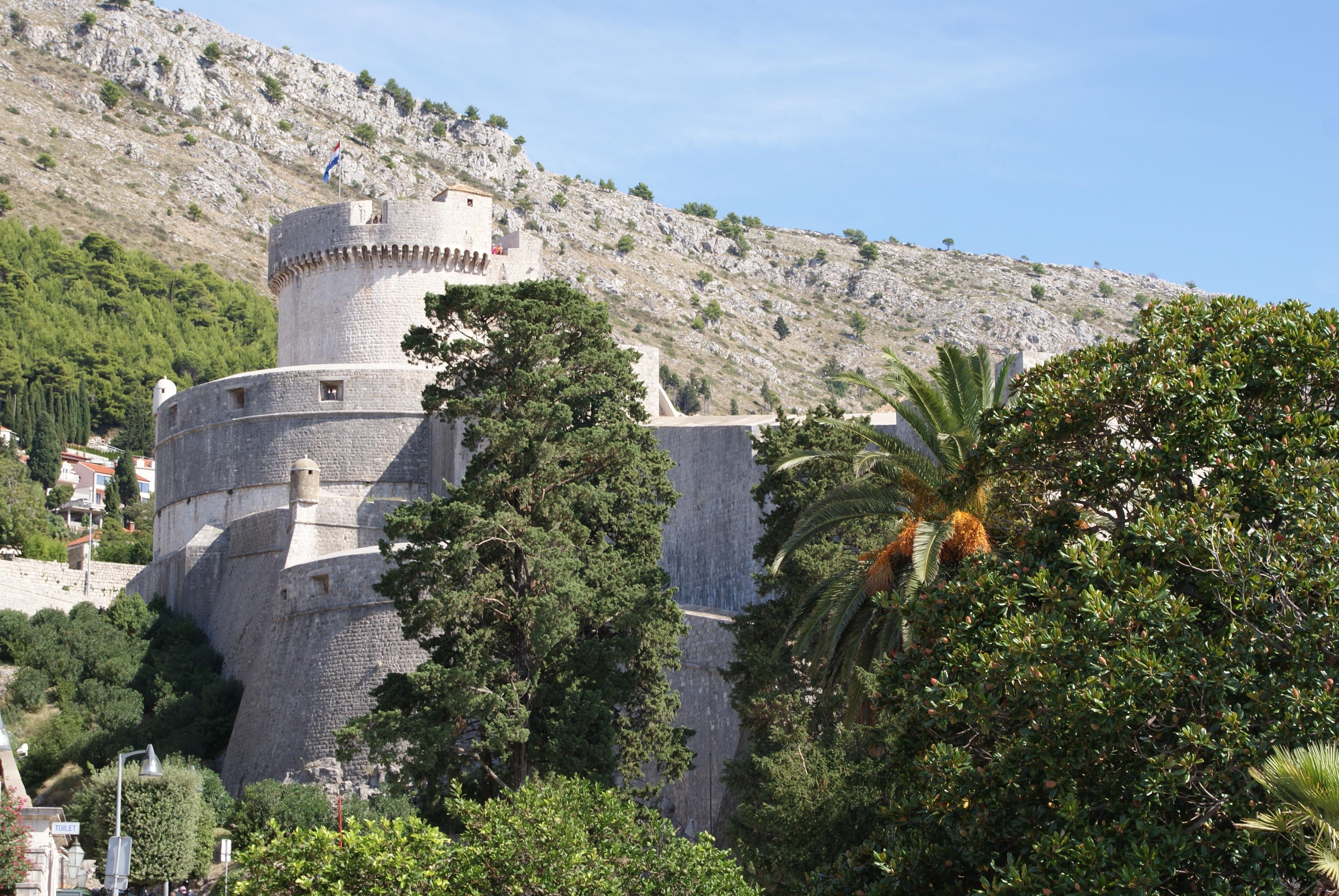 Free Images Villa Flower Building Village Castle Property - Croatia tours