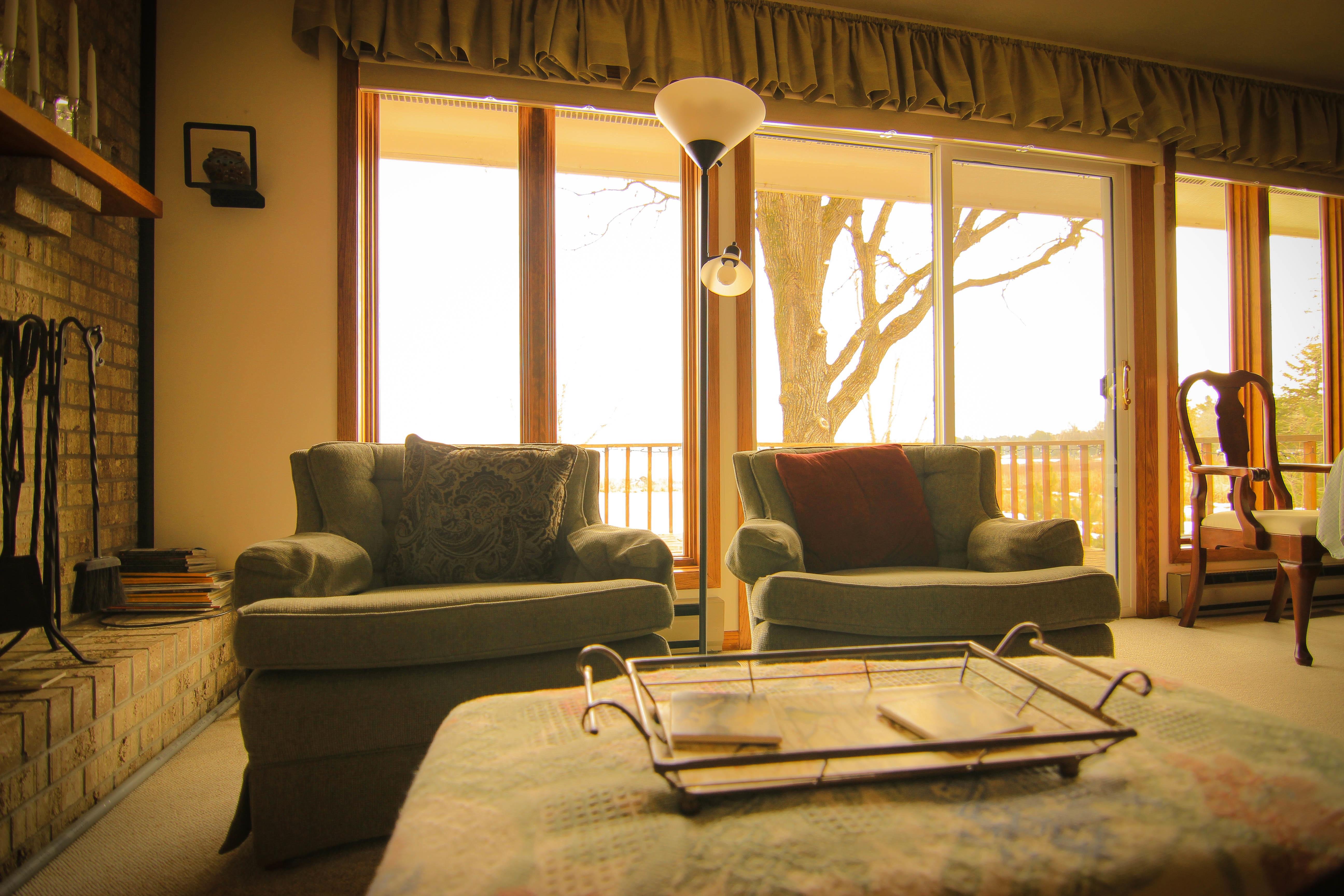 Fotos gratis : villa, cabaña, propiedad, sala, habitación ...