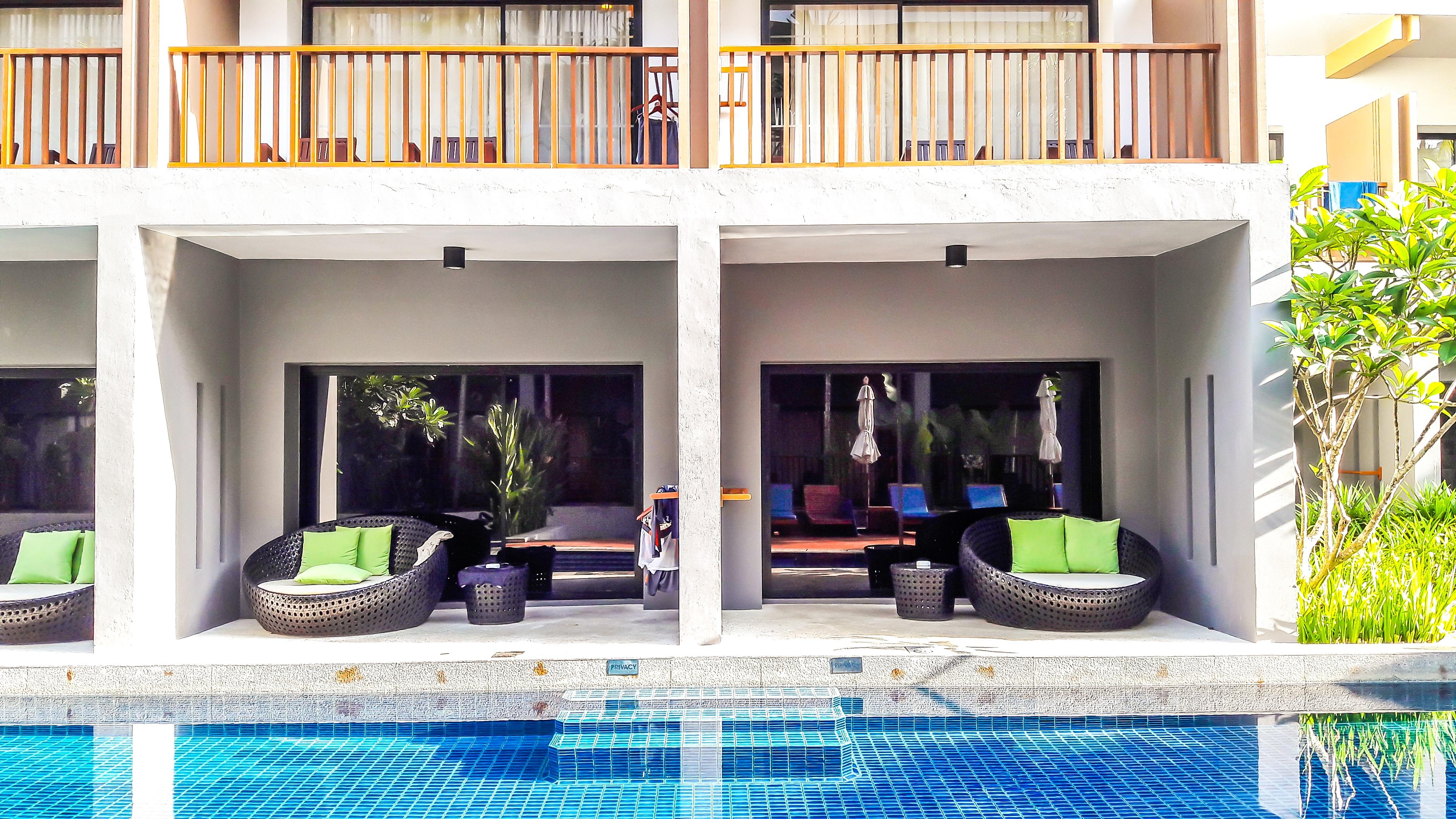Gratis afbeeldingen : villa huis venster huis zomer zwembad