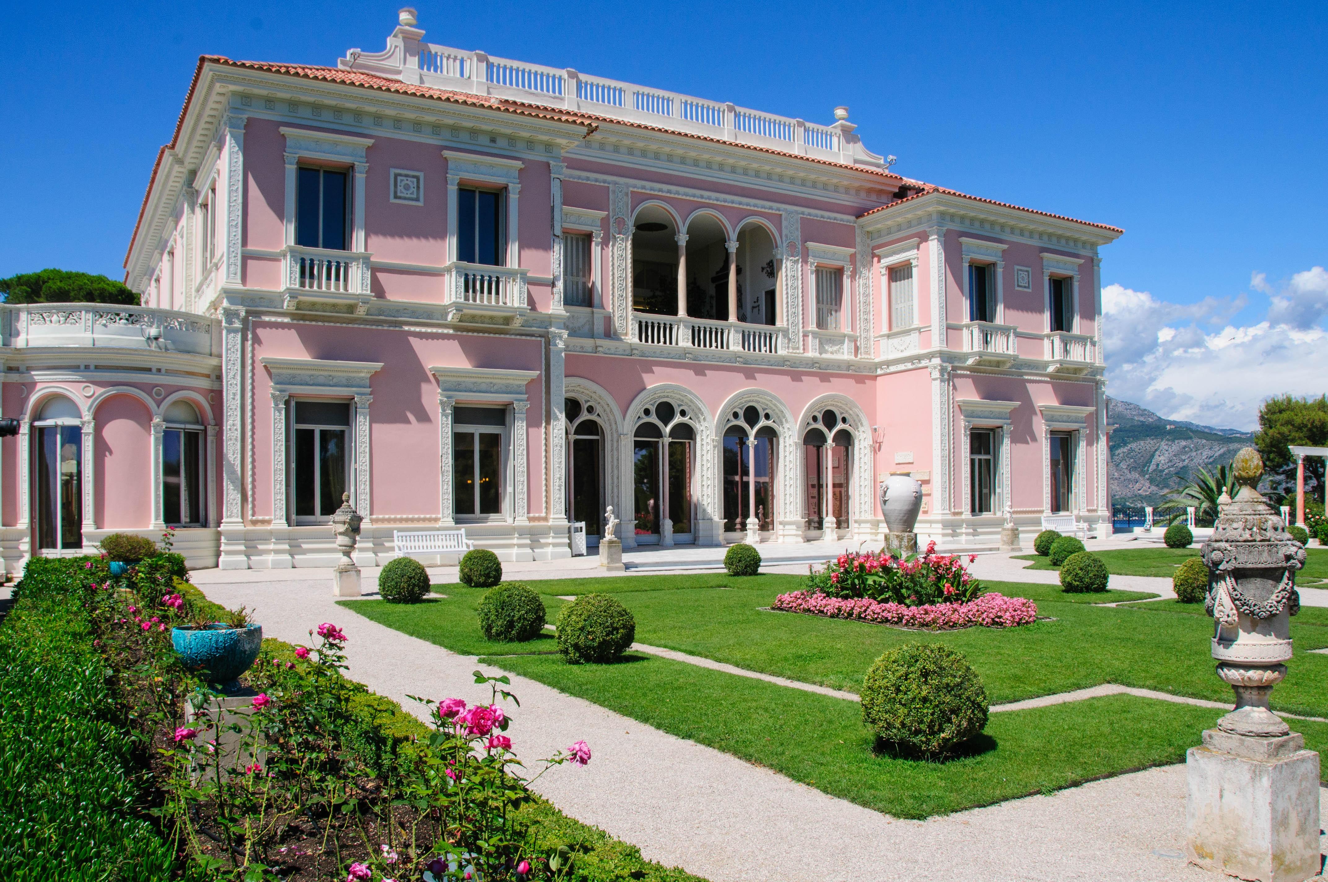 Kostenlose Foto Villa Haus Geb 228 Ude Palast Zuhause