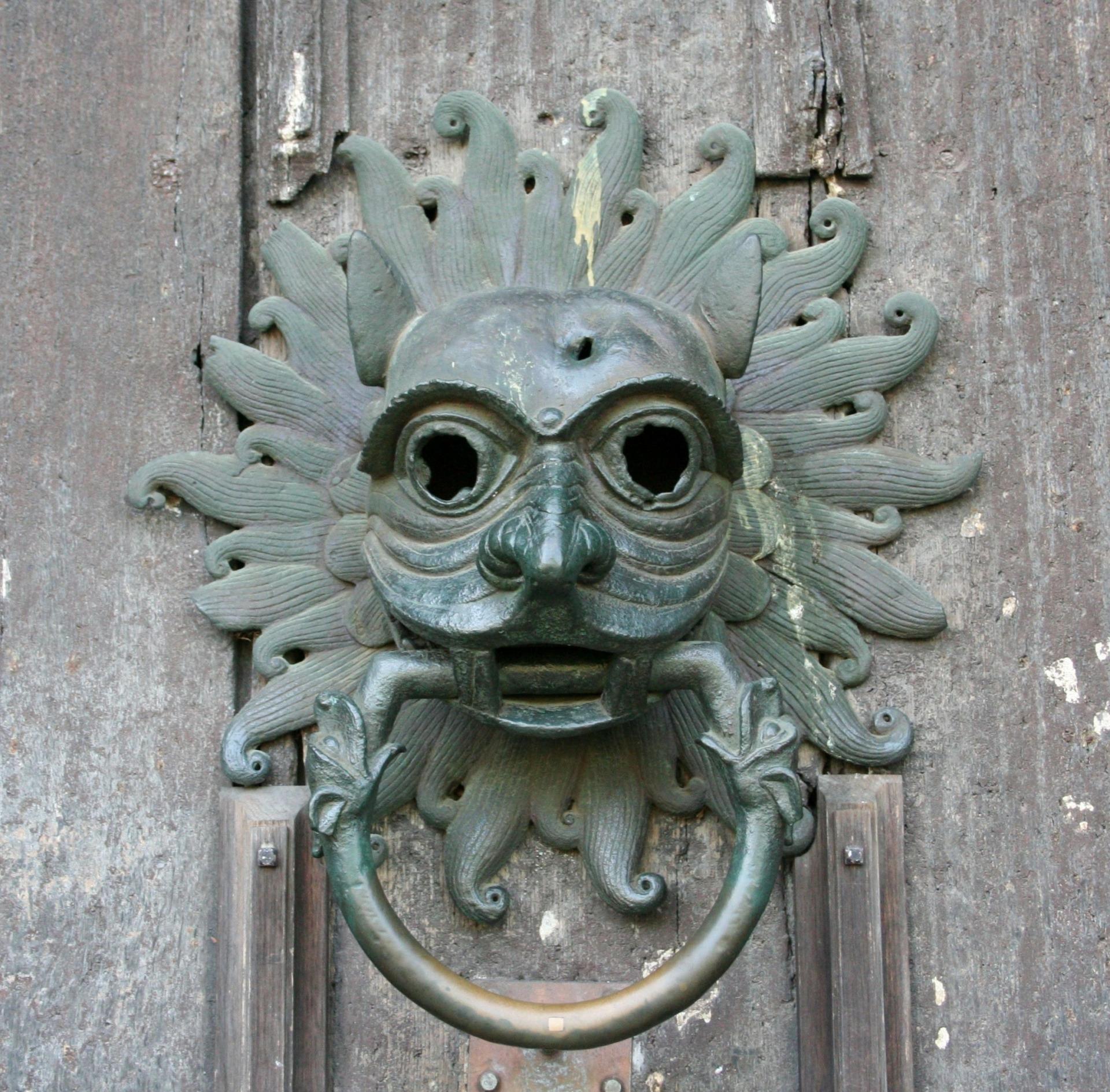 medieval wood carving