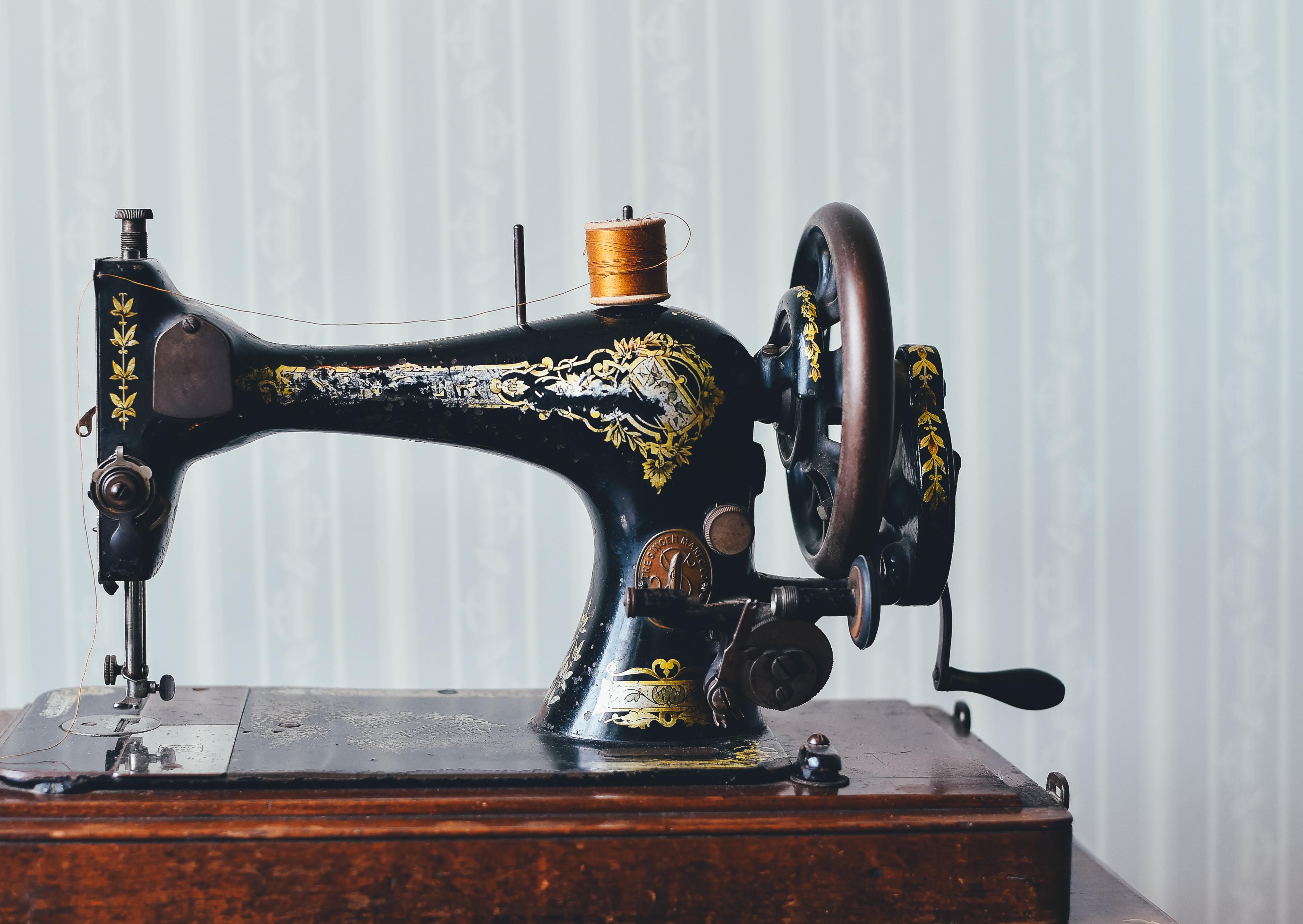 Старая швейная машина картинки