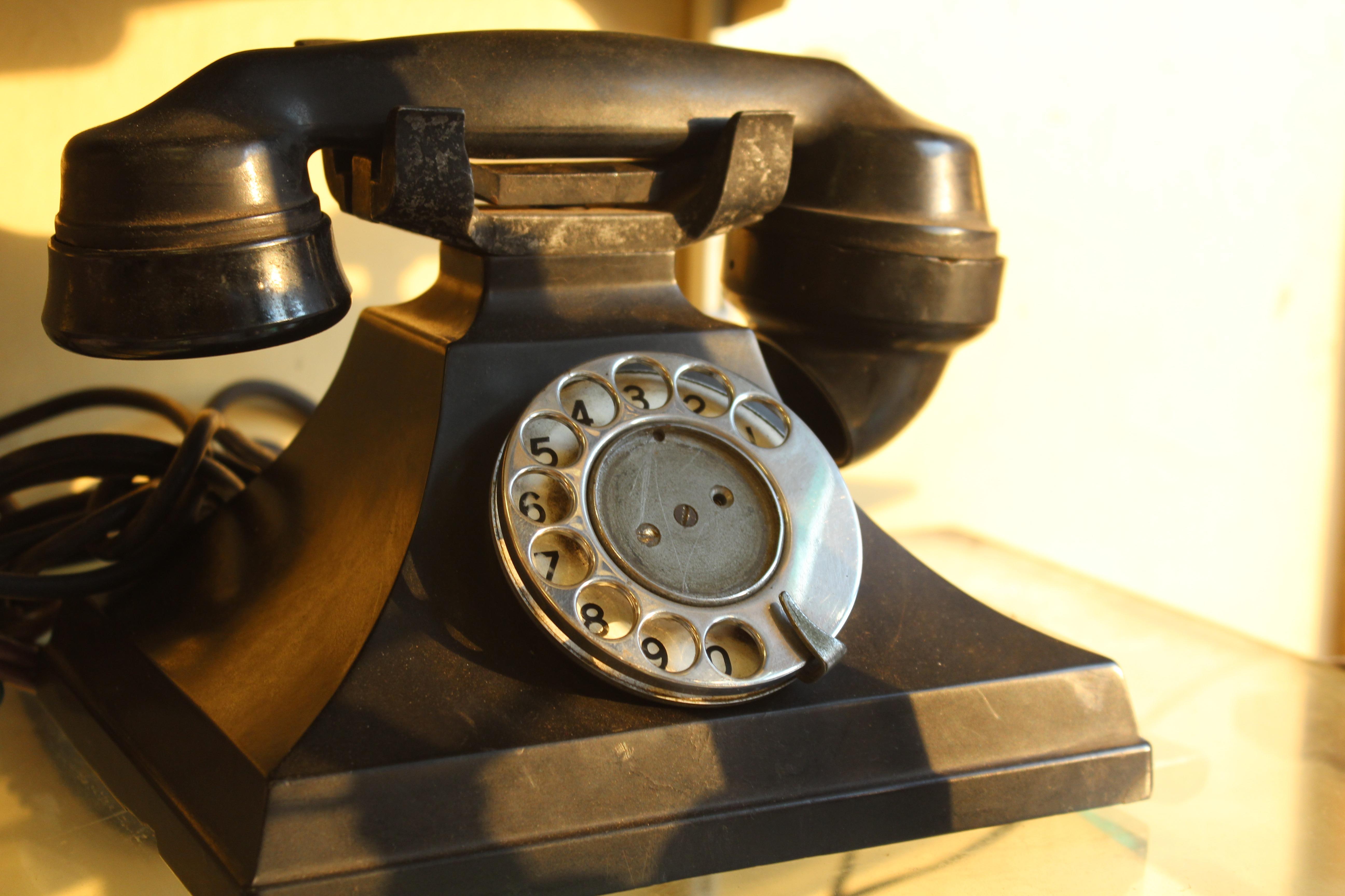 Free Images   Vintage  Antique  Retro  Old  Phone  Metal