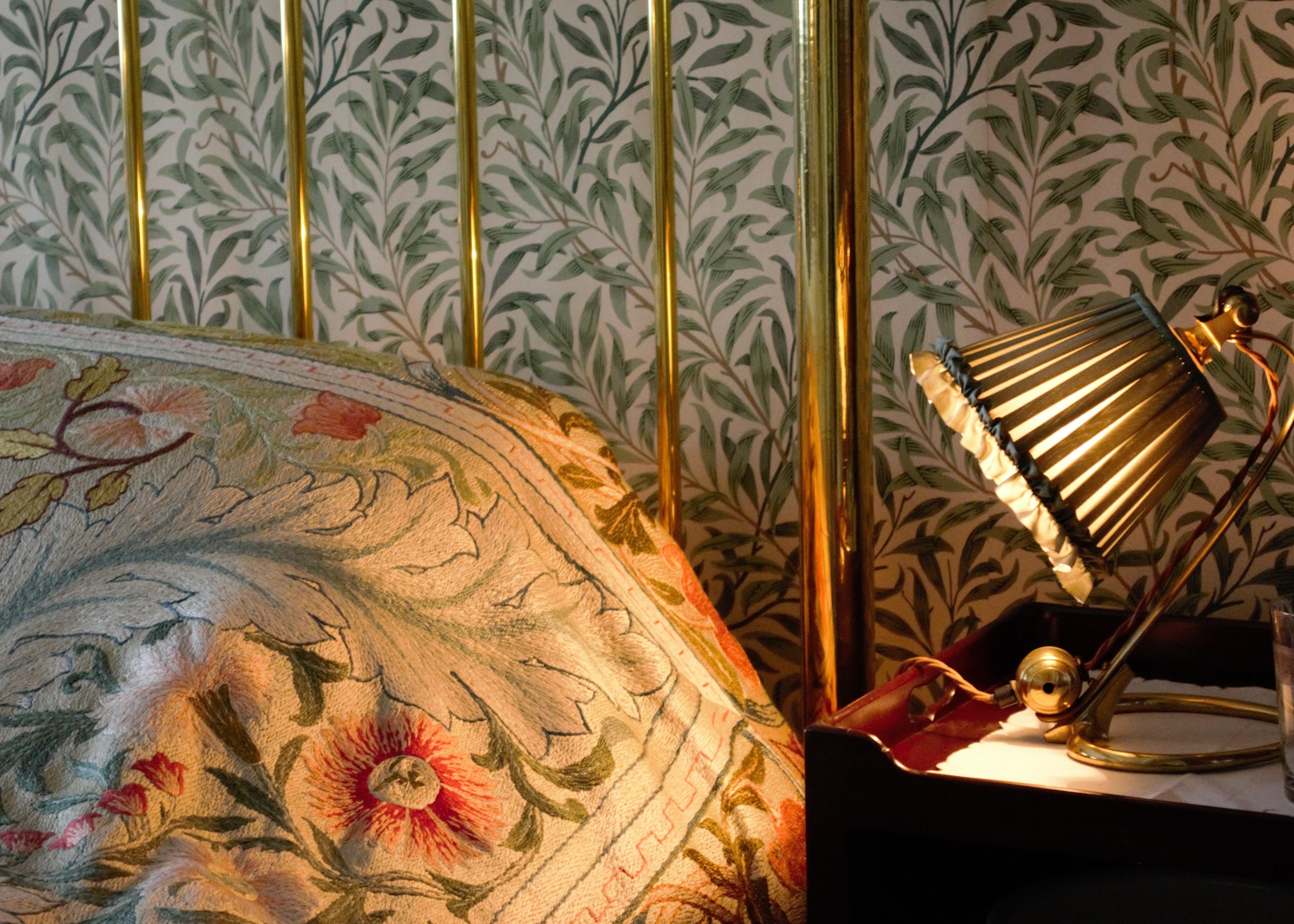 Gambar Vintage Lampu Kamar Tidur Bahan Desain Interior