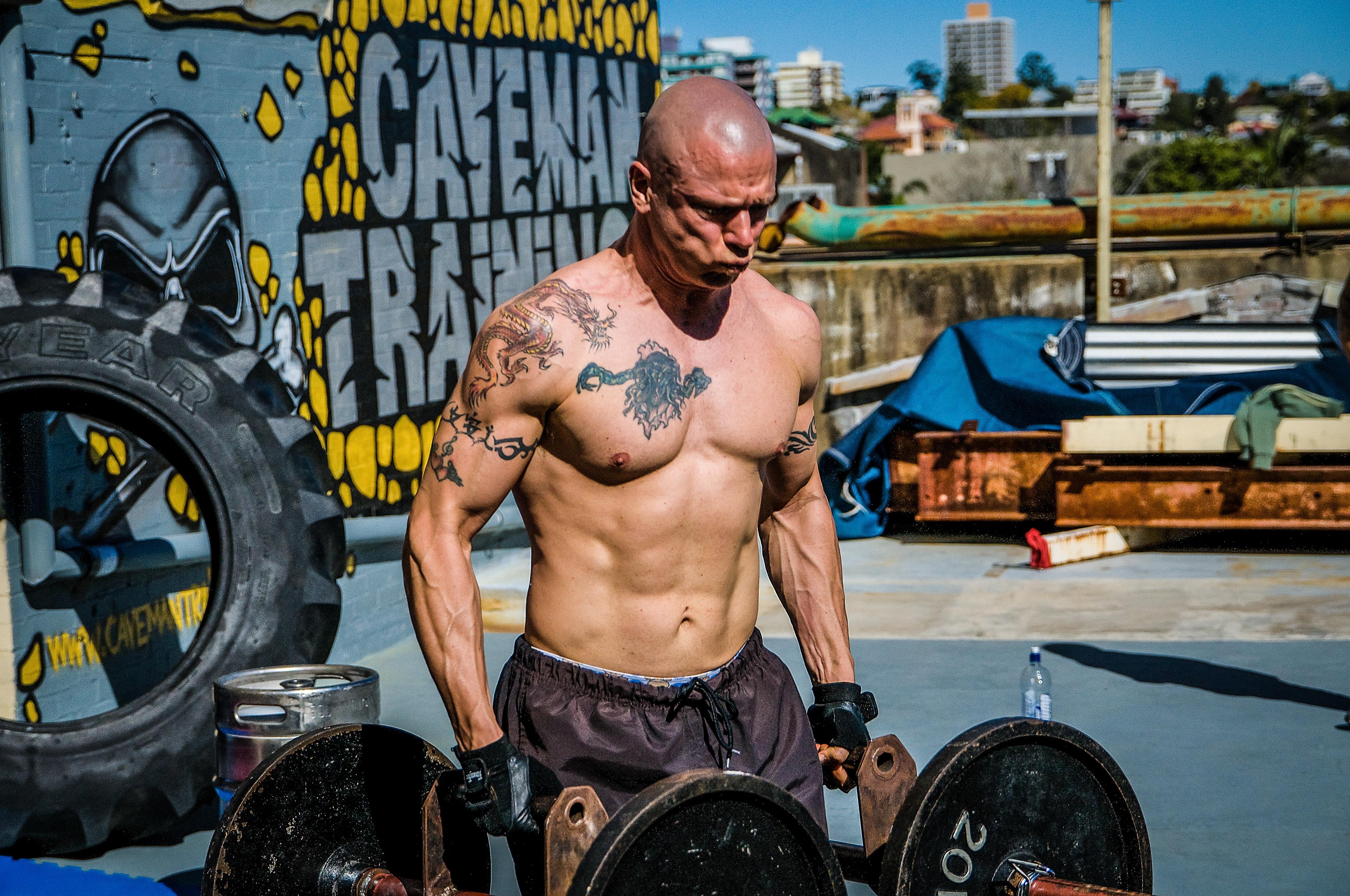 Heavy weight endurance training