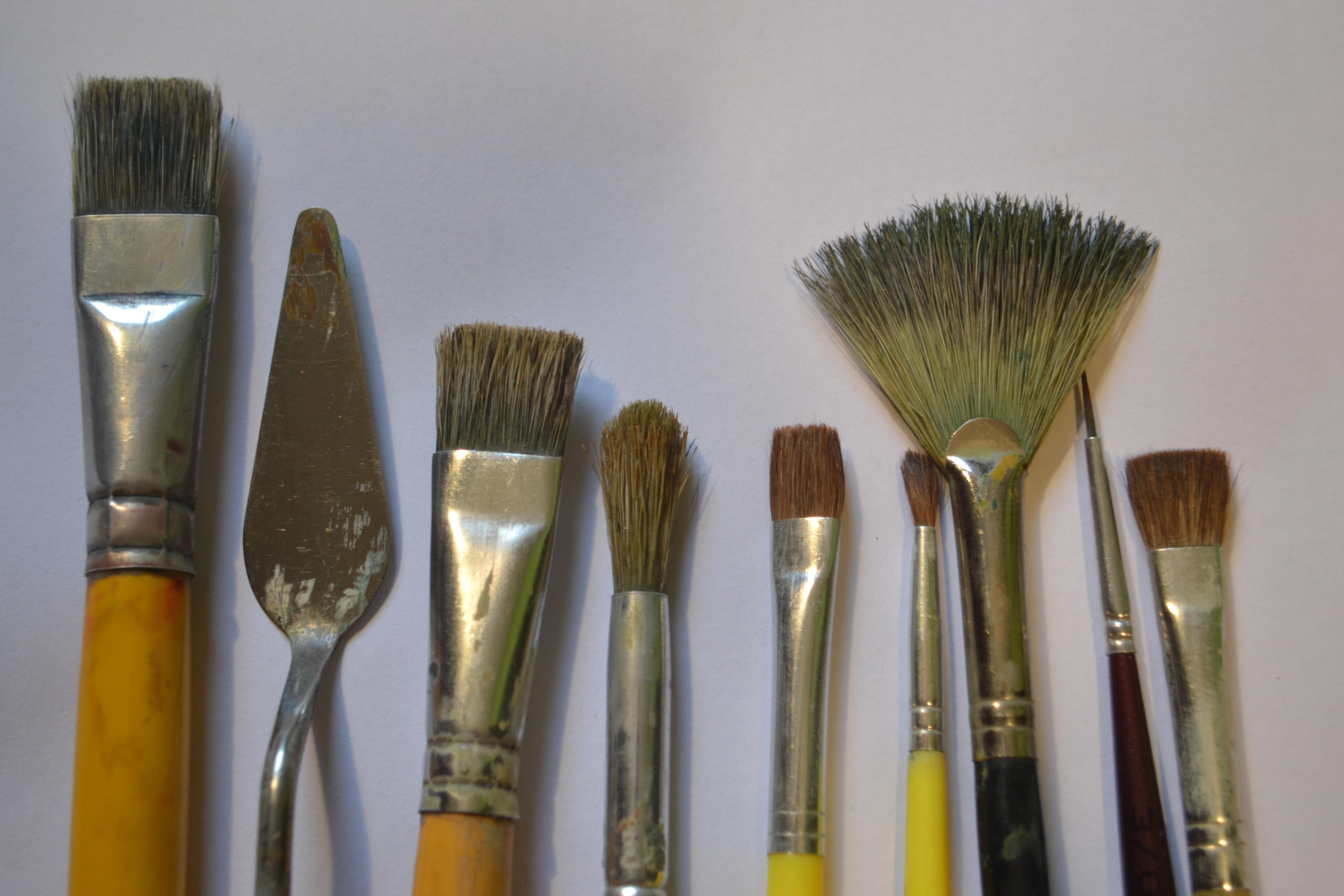 Инструменты художника картинки и названия