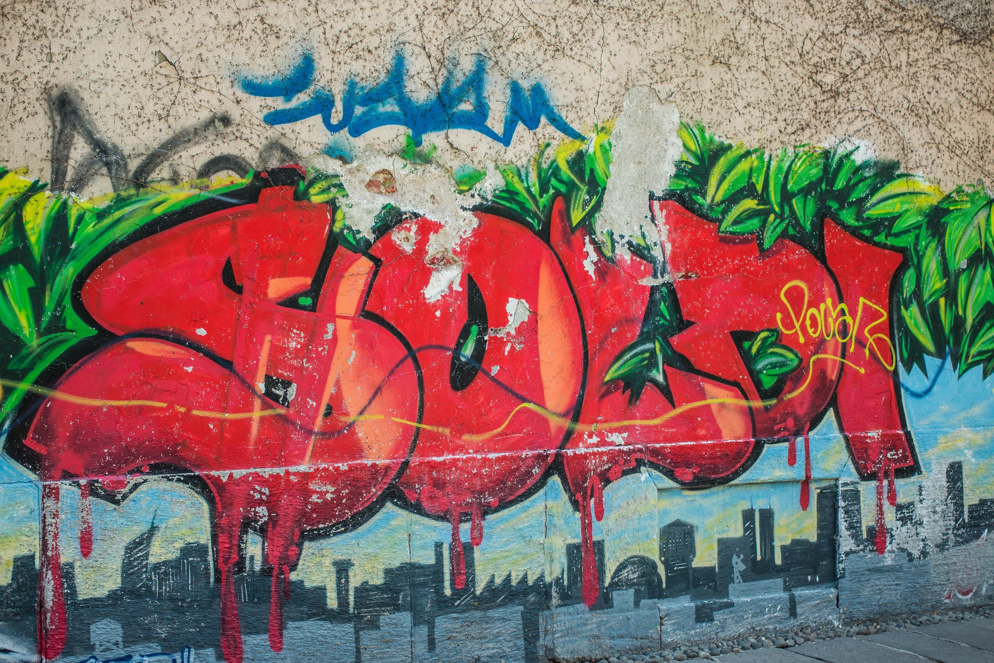 Hình ảnh Tường Màu Sơn Graffiti Nghệ Thuật đường Phố