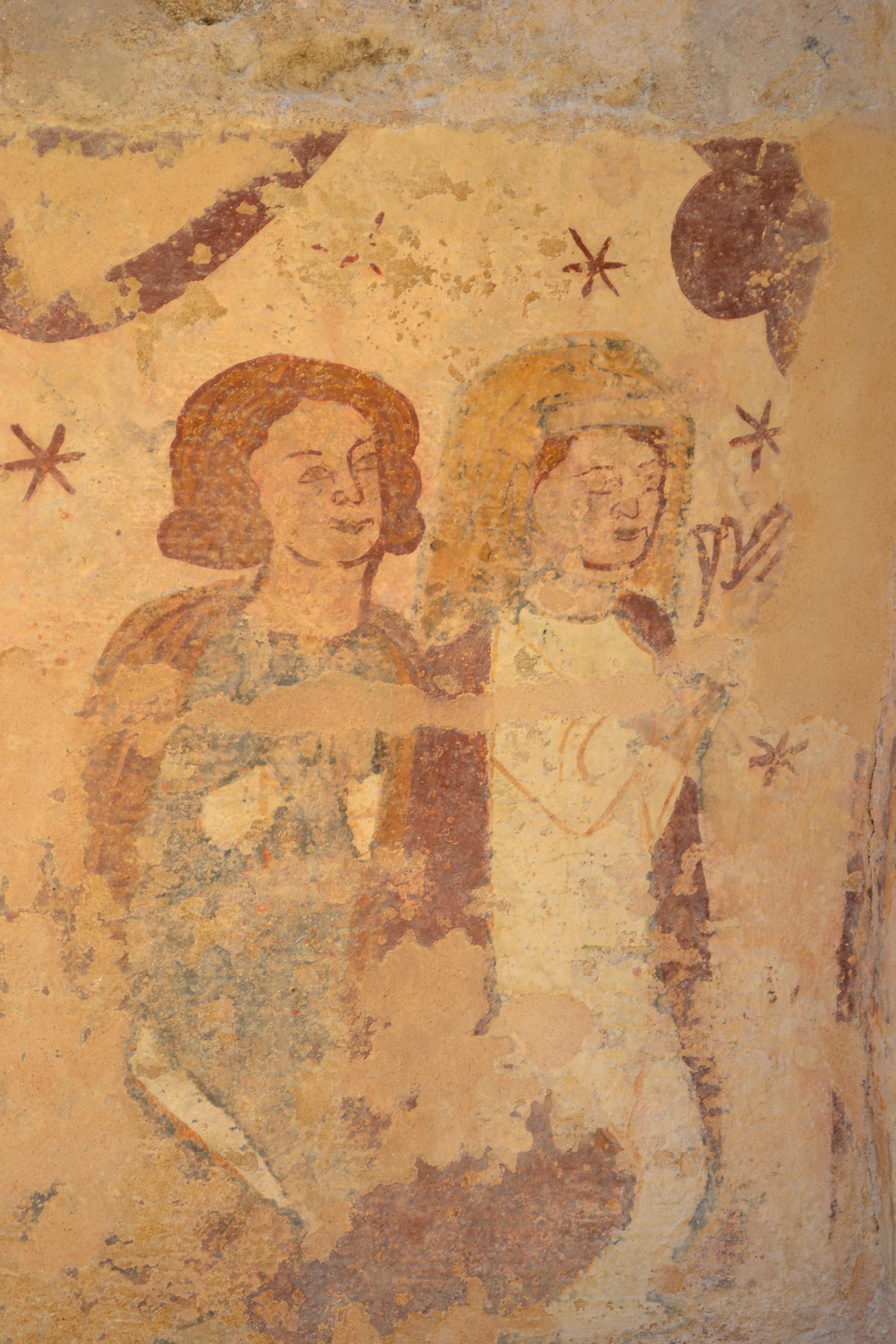 Peindre Une Fresque Sur Un Mur images gratuites : mur, france, église, la peinture