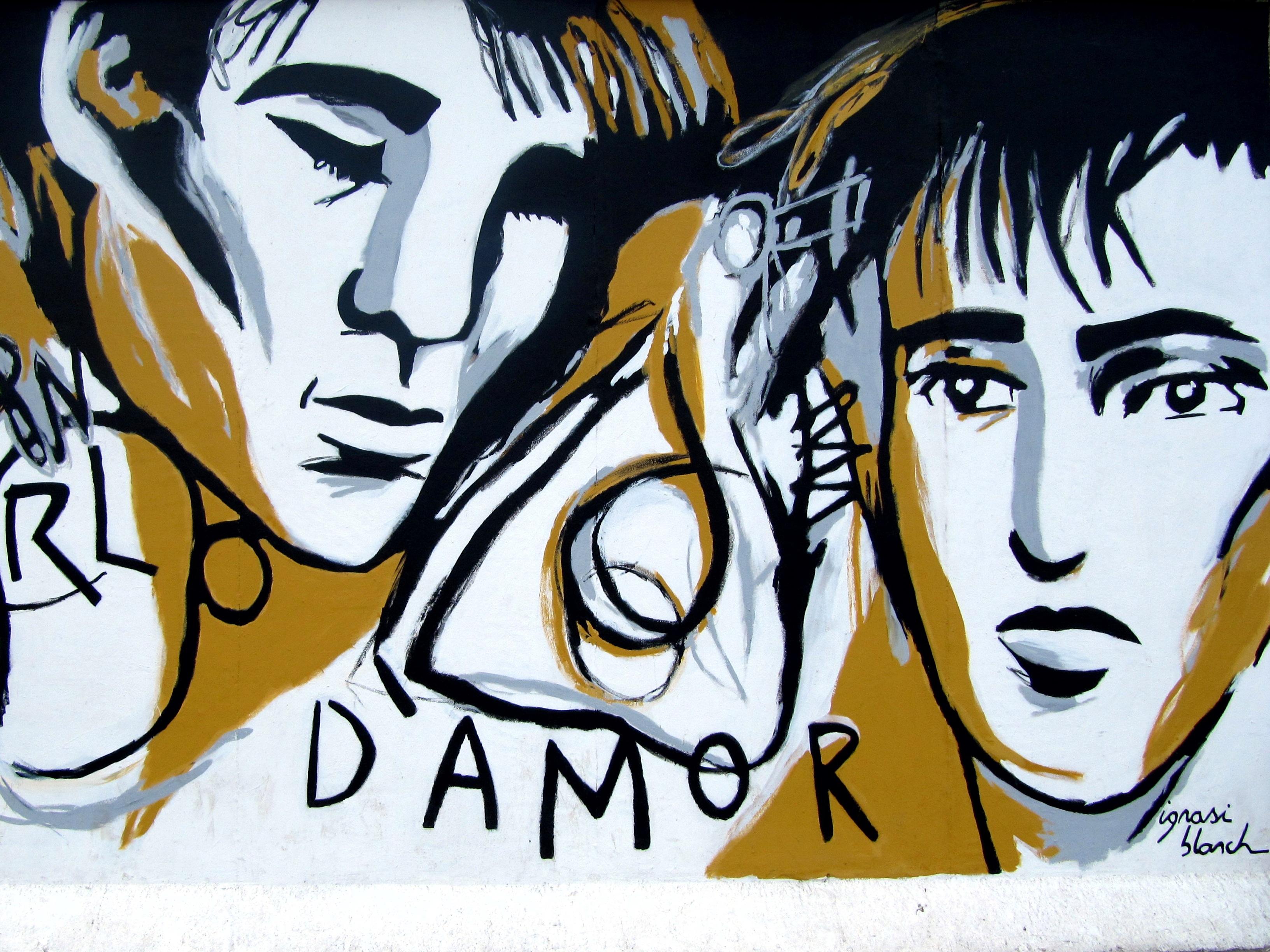 Gambar Dinding Coretan Sketsa Ilustrasi Gambar Kartun Seni