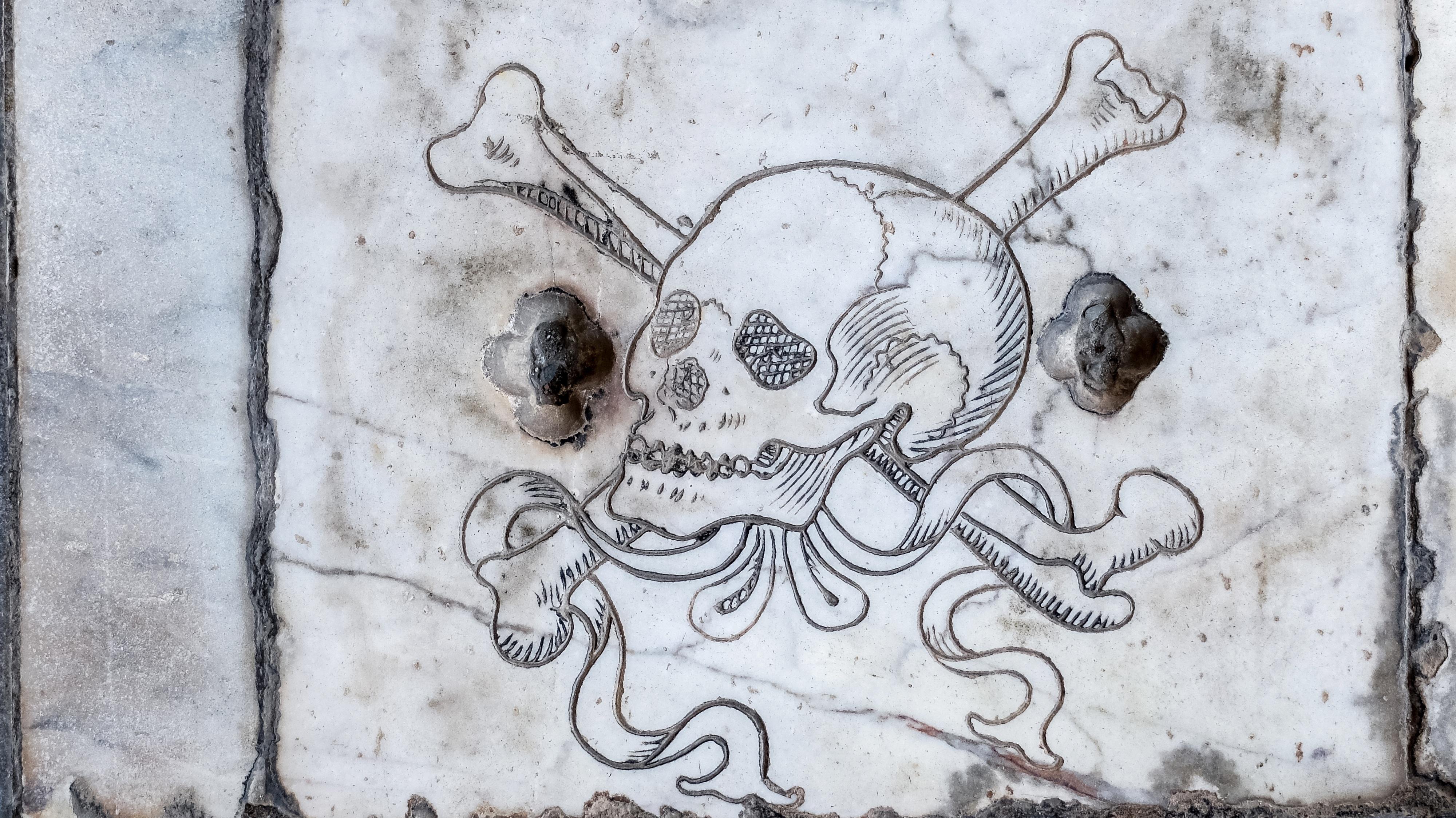 Free Wall Graffiti Skull Street Art Sketch