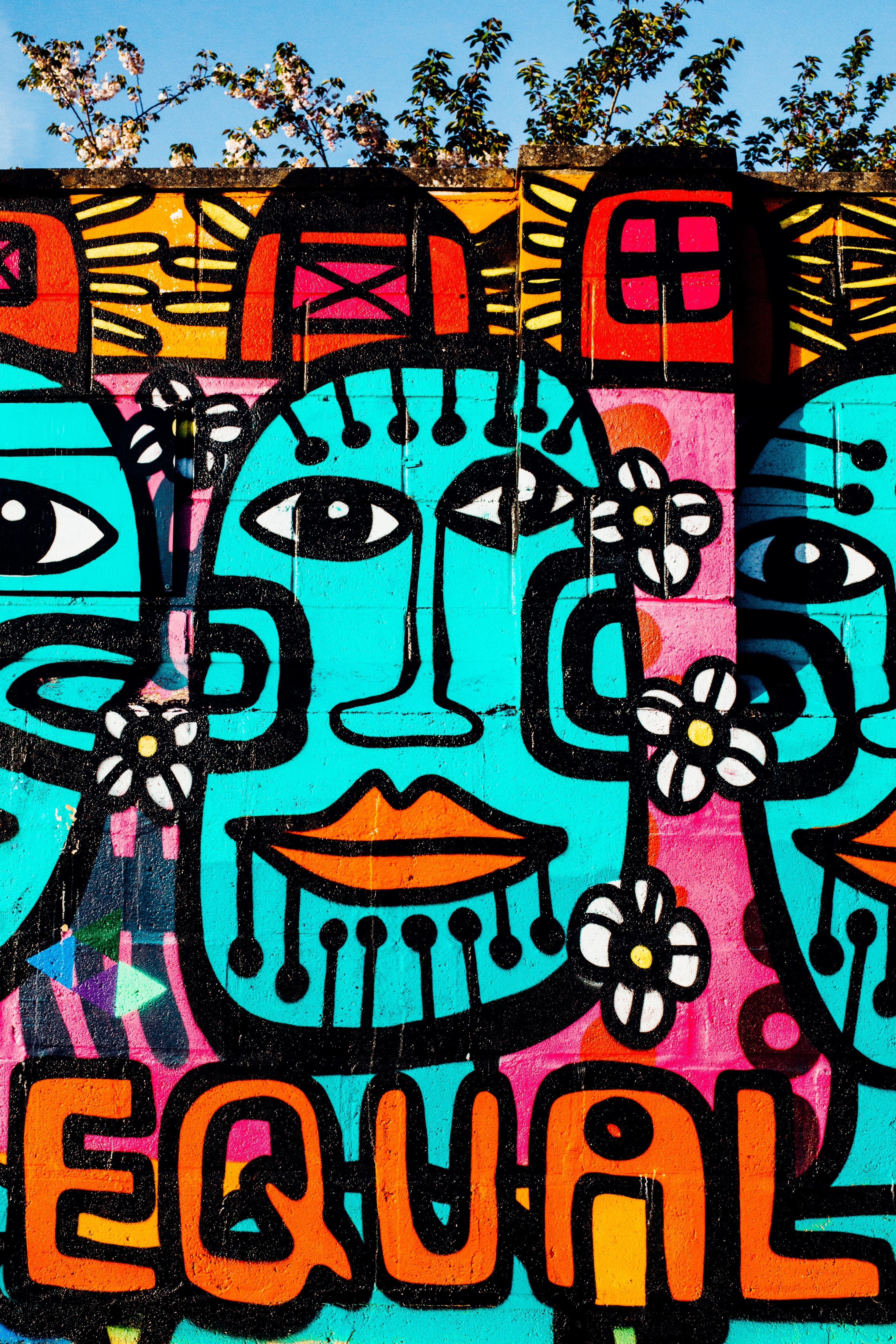 Free Images : wall, graffiti, street art, urban art, font ...
