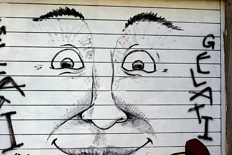 Kostenlose foto : Mauer, Linie, Graffiti, Schriftart, skizzieren ...
