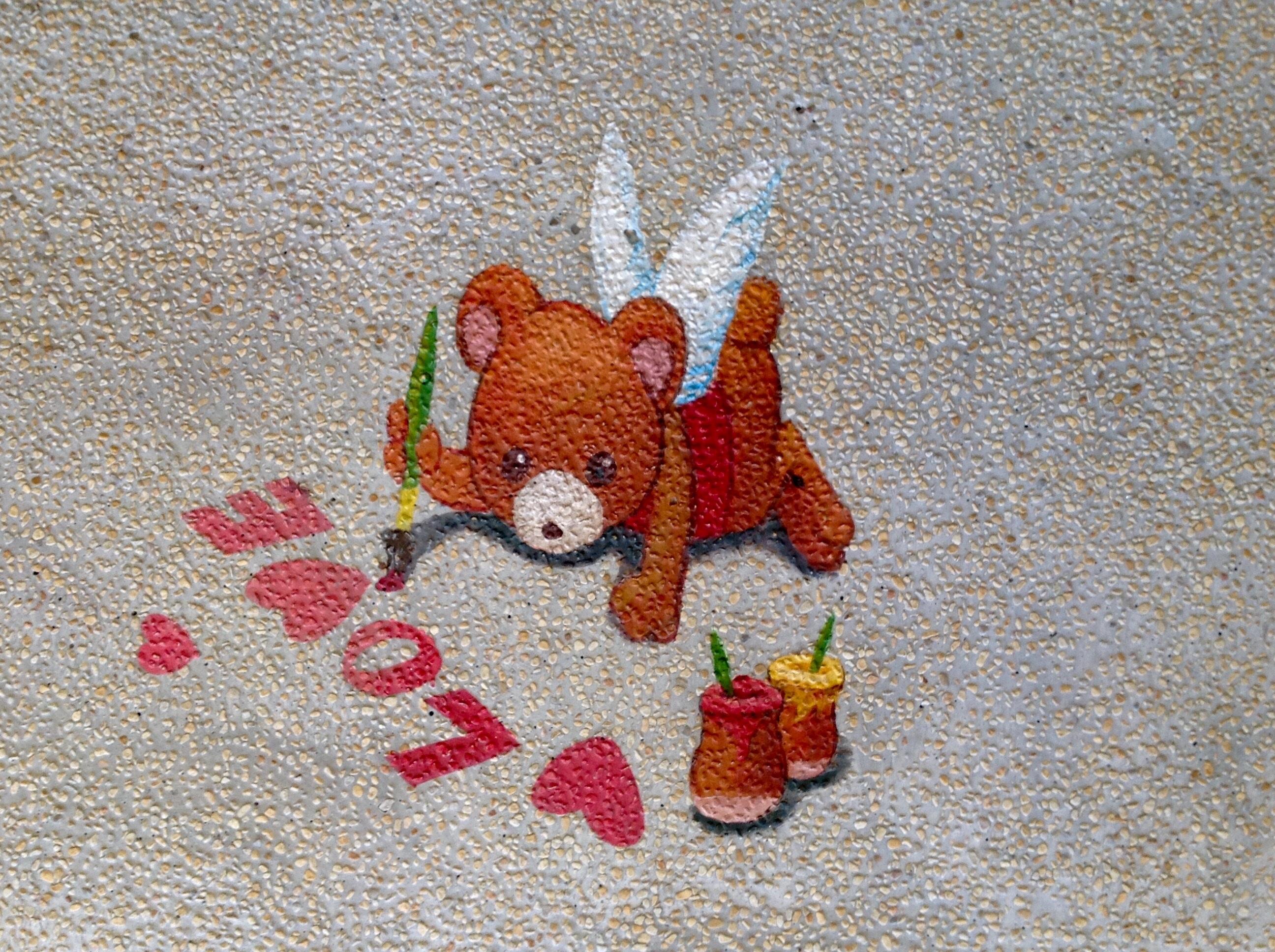 Fotos gratis : pared, amor, patrón, rojo, pintar, juguete, material ...